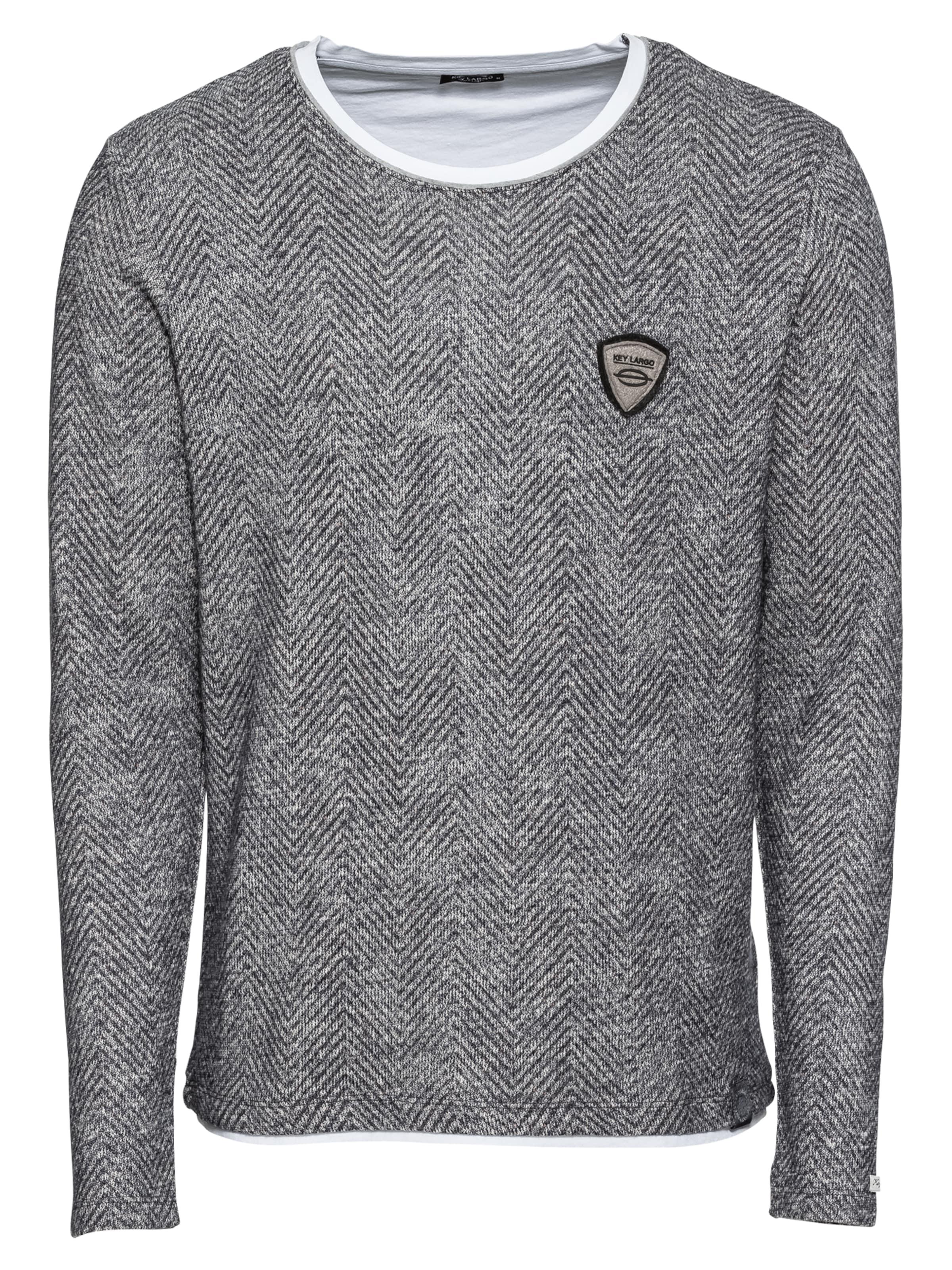 Round' Gris Largo 'msw Key Sweat Agility shirt En SzVUMp