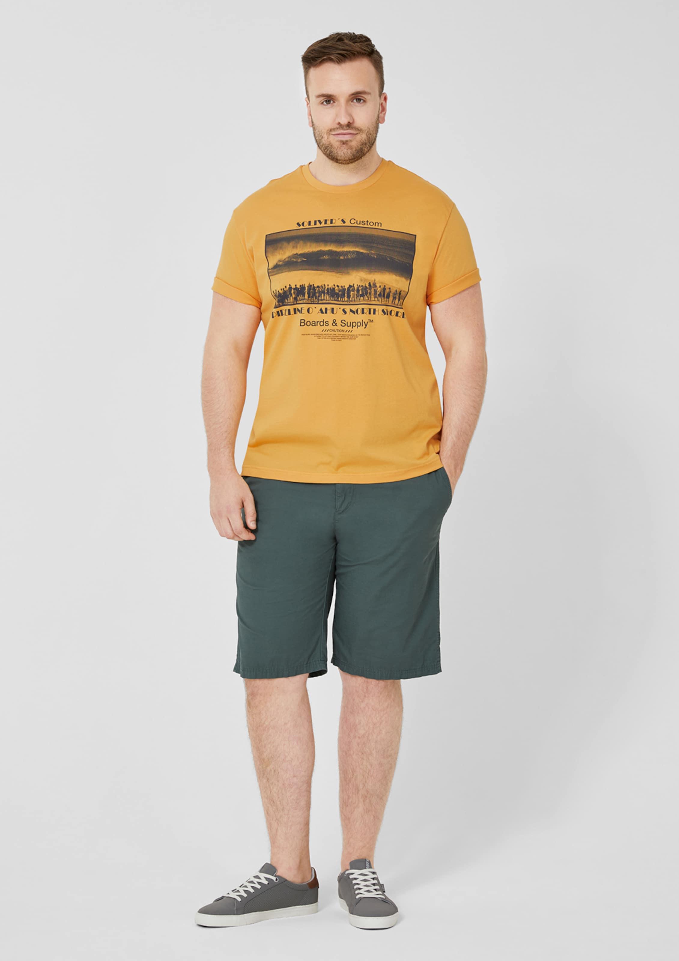 S Red Jerseyshirt Label In oliver GelbSchwarz f6Y7yIbgv