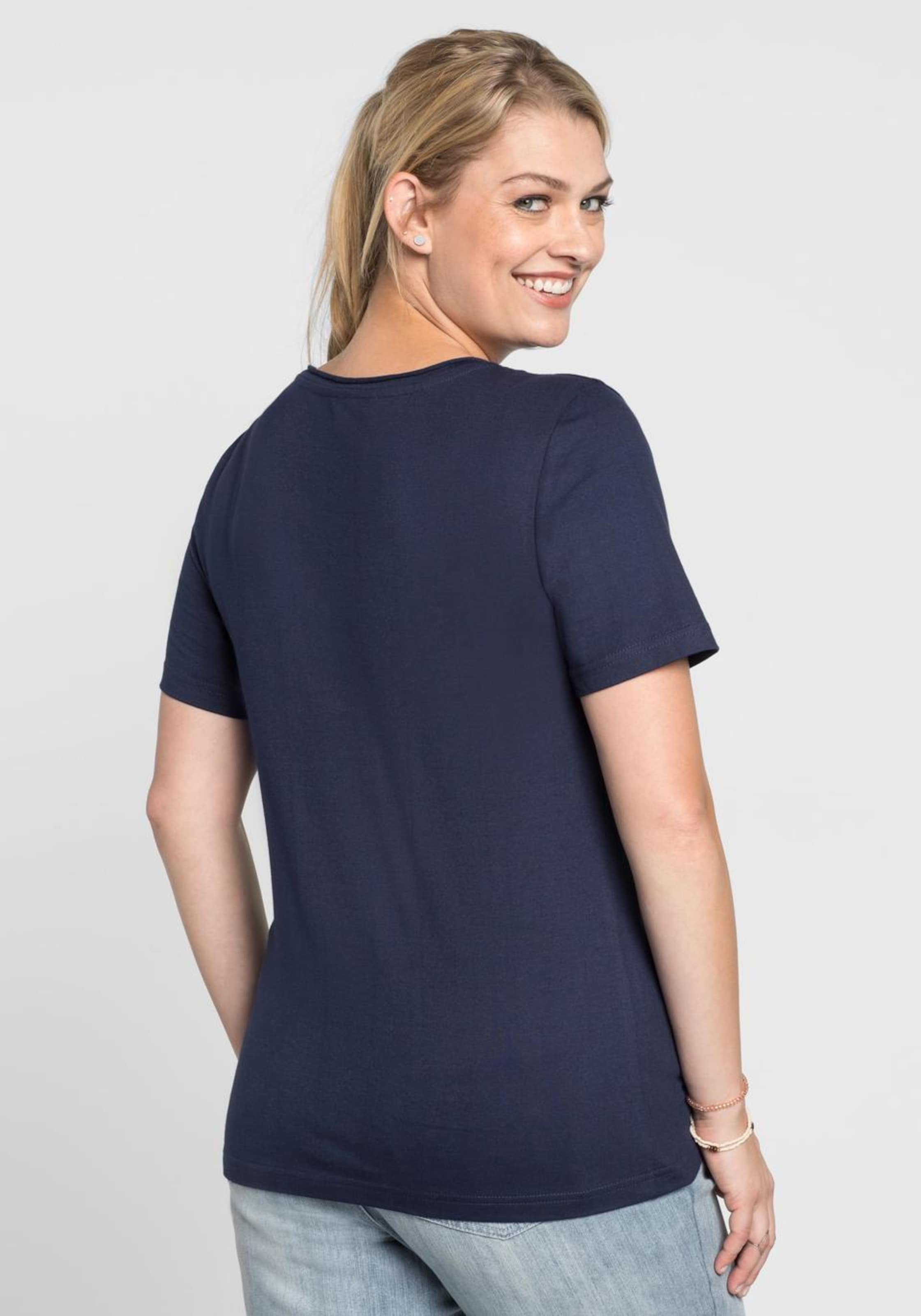 Casual shirt Marine Sheego T In qMVpzGUS