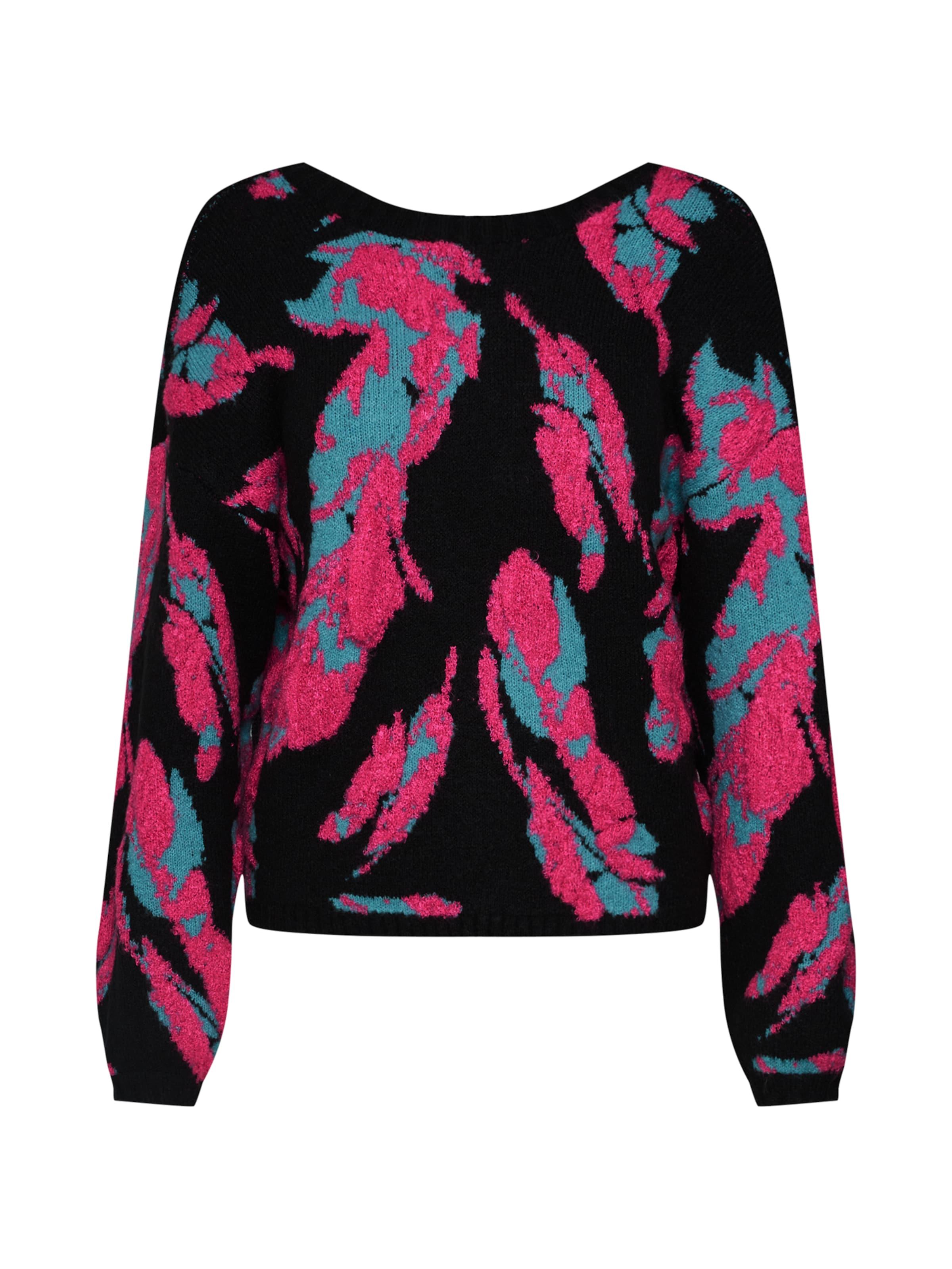 Lost Pullover In 'intarsia' Ink PinkSchwarz VSqMpUz
