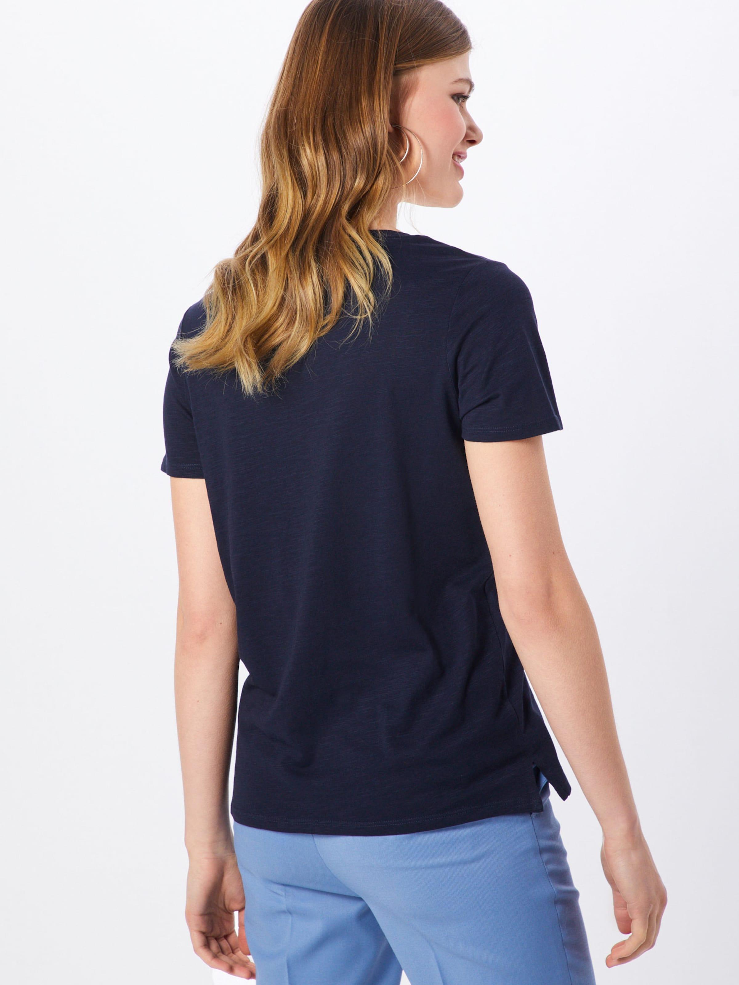 T oliver Label Marine shirt S Red Bleu En Ib7gymvYf6