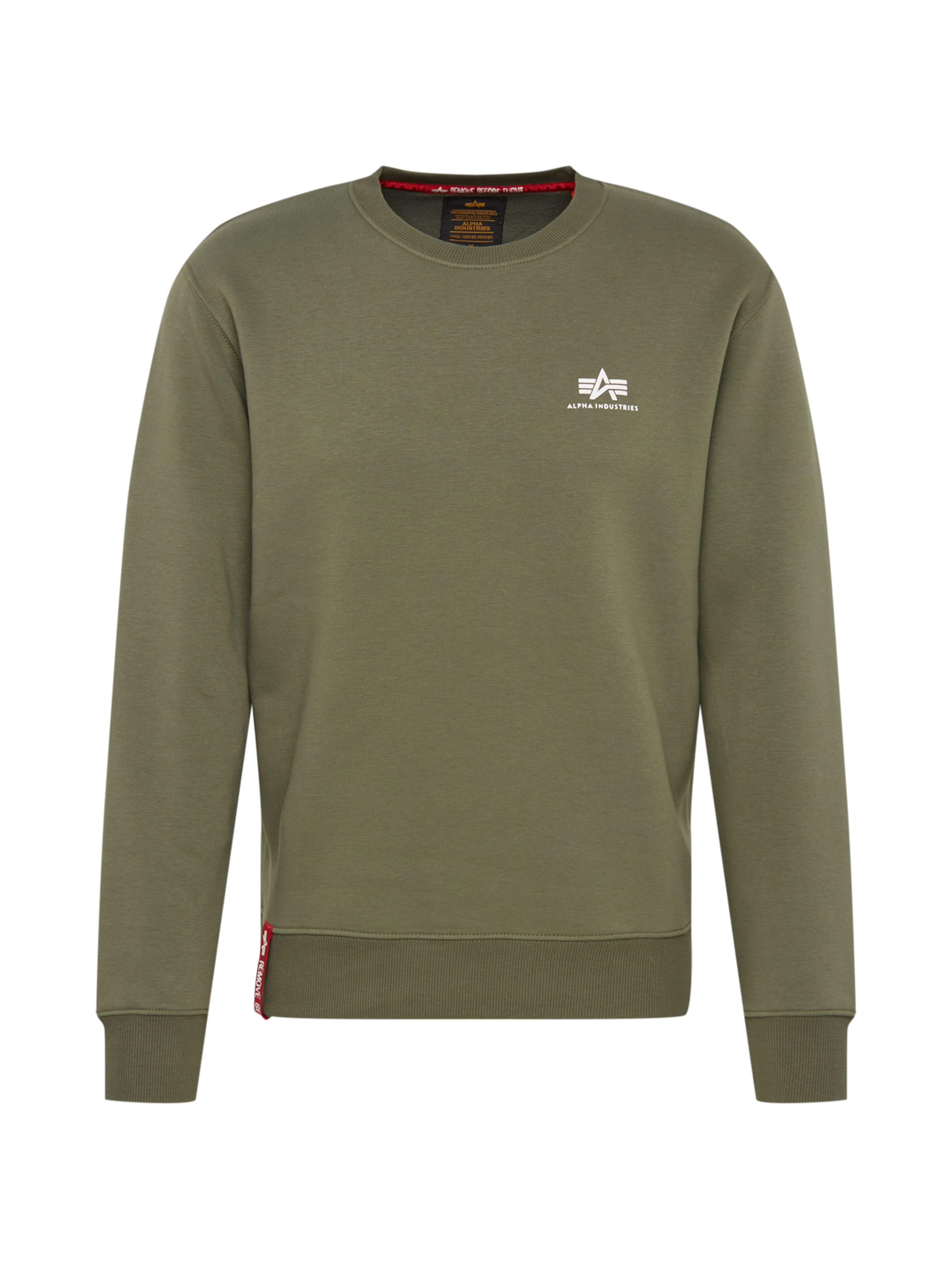 Industries Sweat En Gris Alpha shirt Chiné lK1FJc