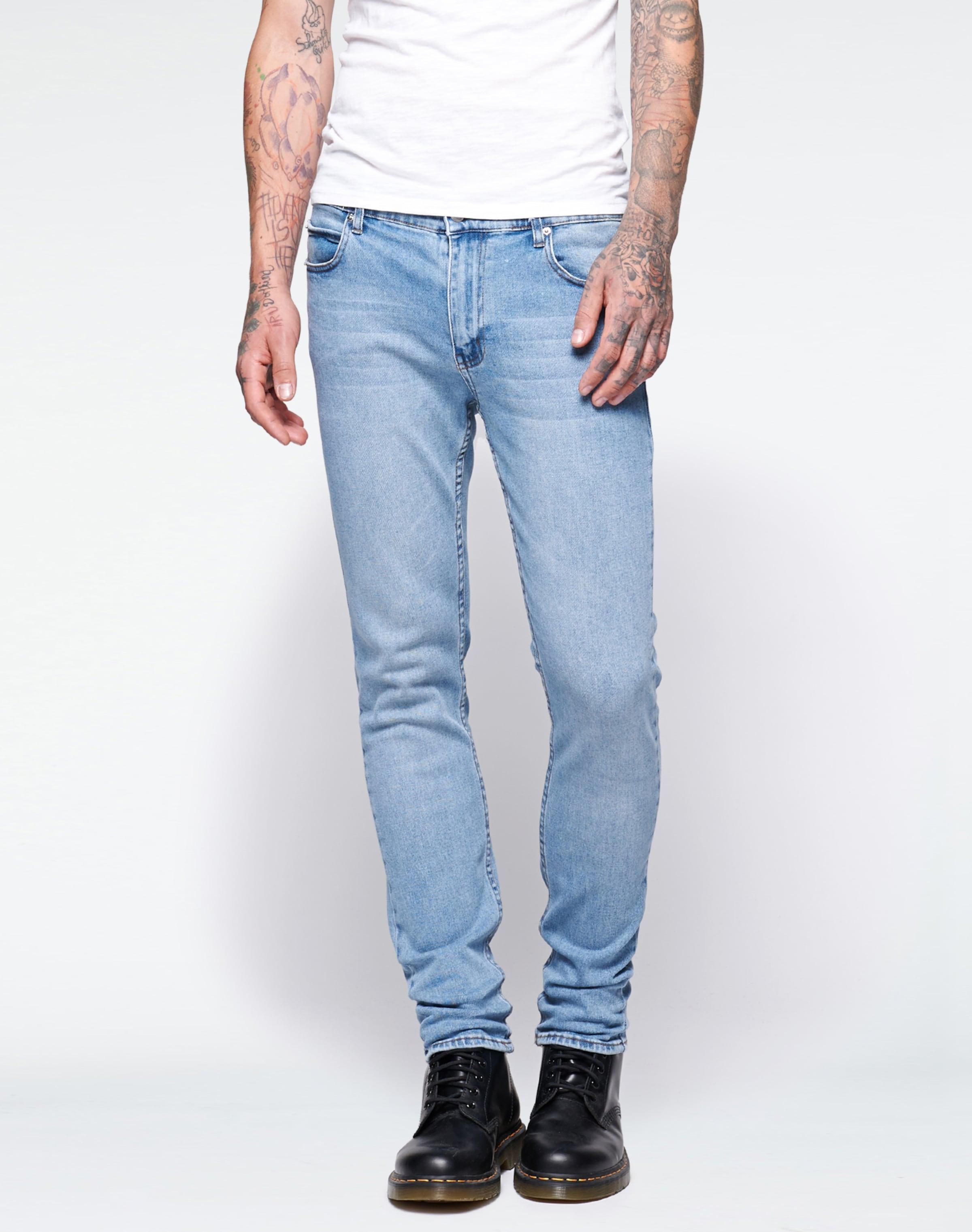 Cheap Monday Bleu Jean 'tight' En OZXPkuTi