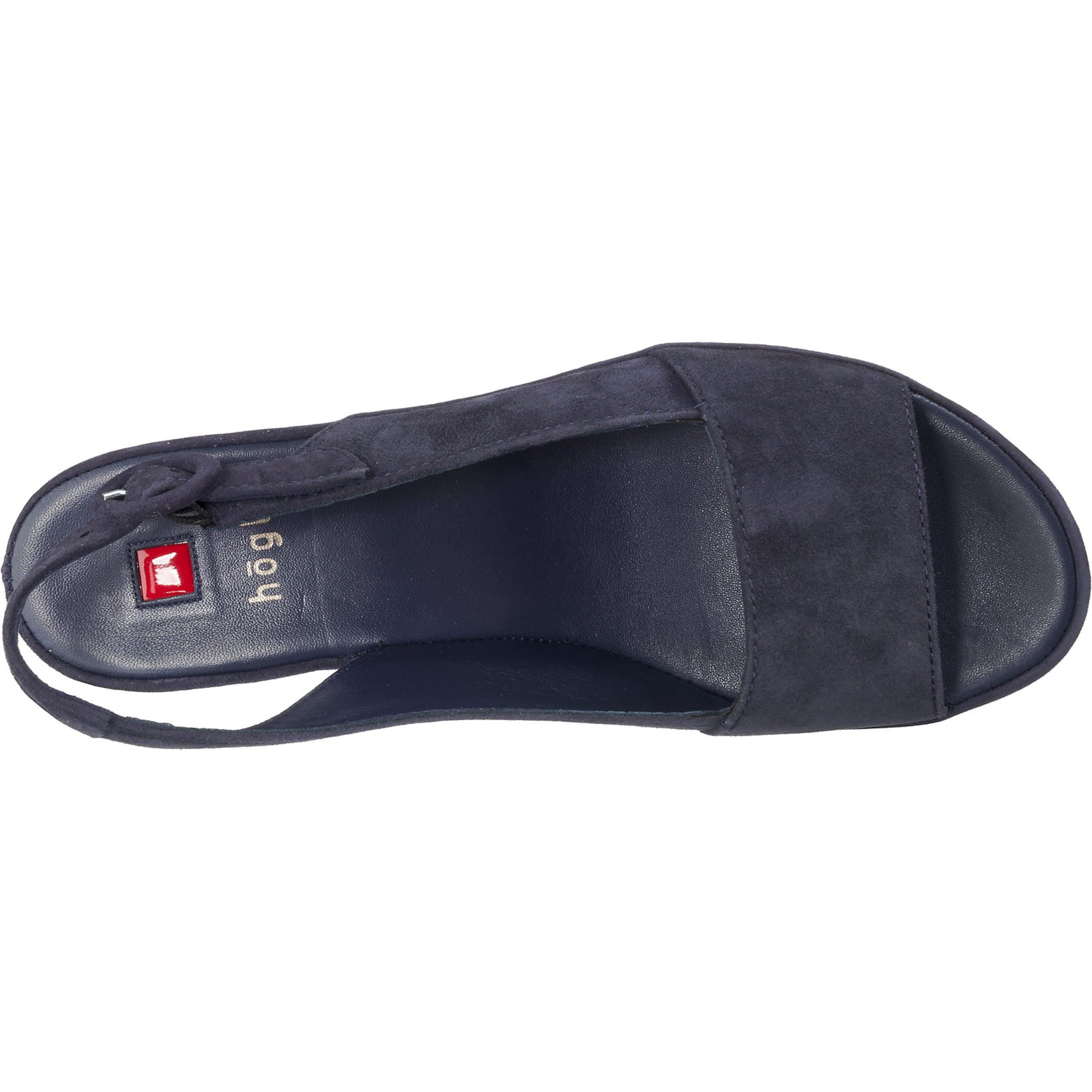 En Högl Marine Sandales Bleu Sandales Högl NOm80vwn