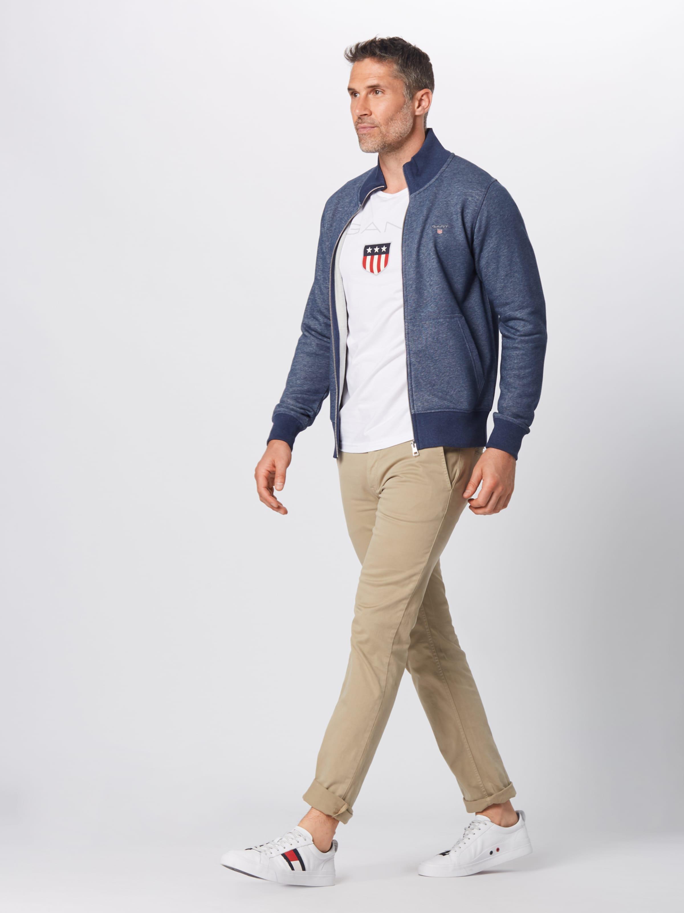 In Marine Zip Sweatjacke Original Full Gant Cardigan' 'the qLSzMGpjUV