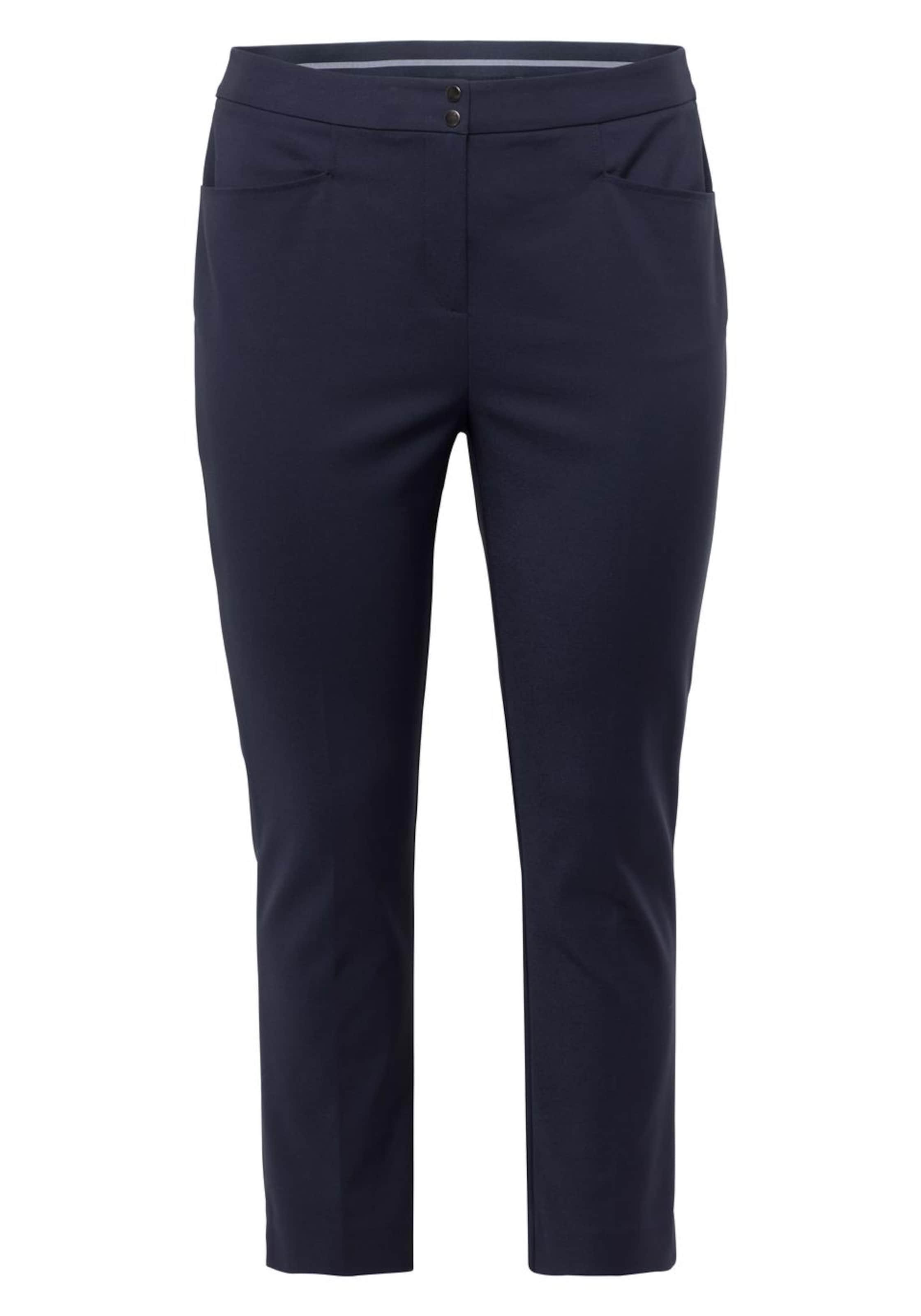 Style Bügelfaltenhose MarineWeiß Bügelfaltenhose Bügelfaltenhose Sheego Sheego MarineWeiß Style Sheego In Style In TKc1JlF