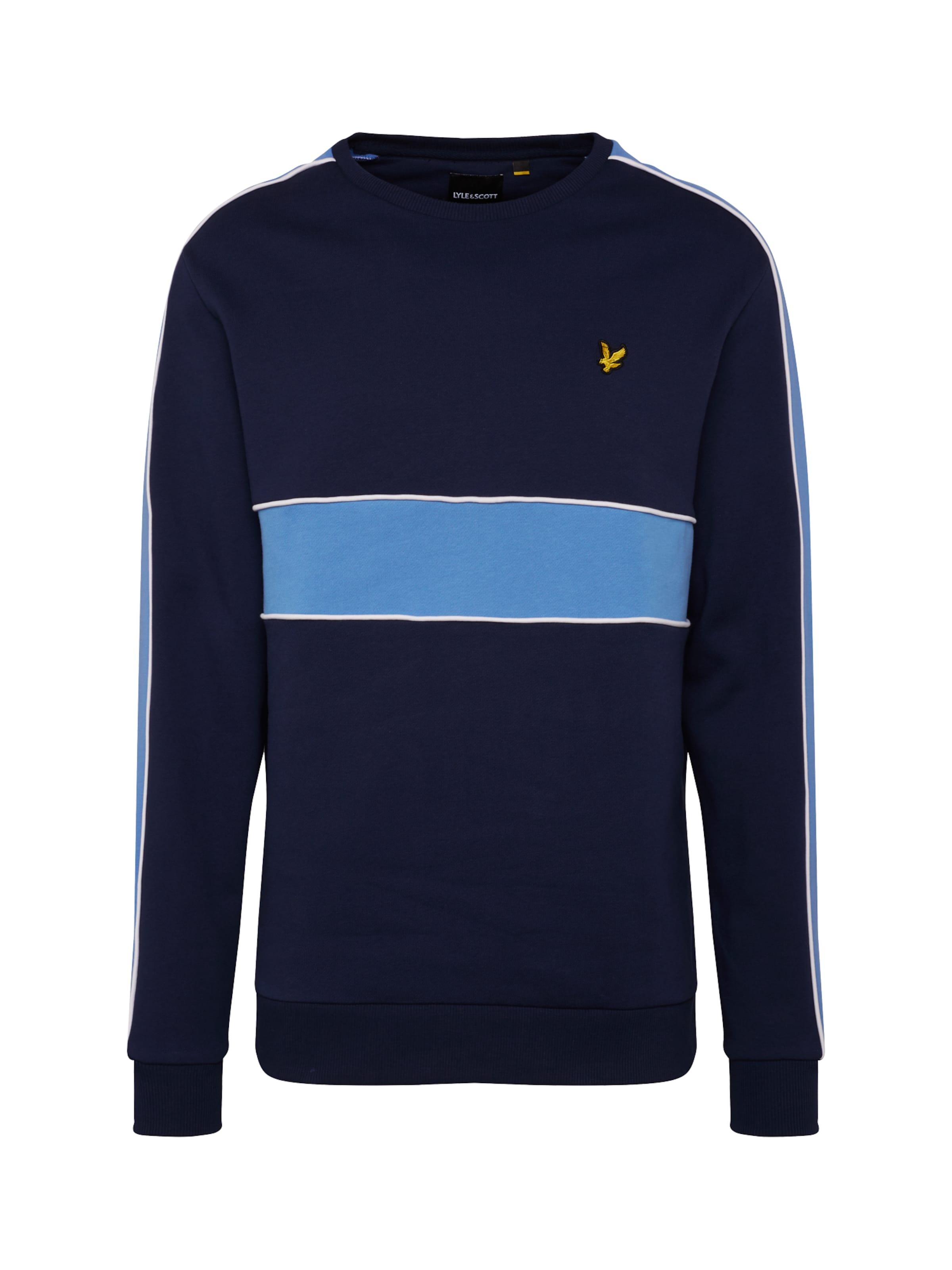 shirt Sew' 'cut En Scott Bleu Lyleamp; MarineClair Sweat uOPkiXZ
