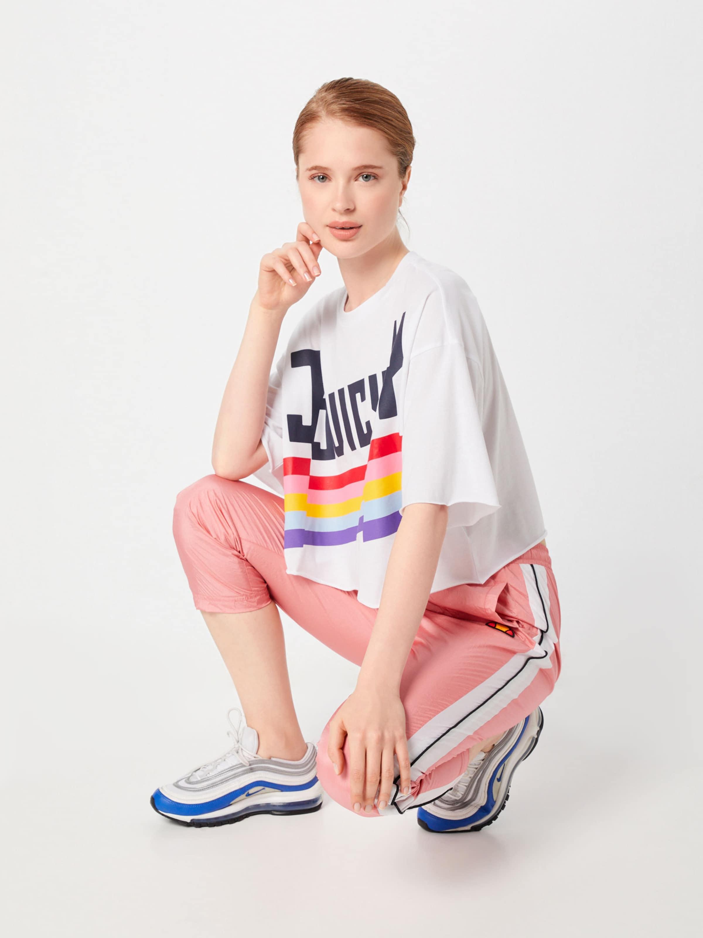 De T By En Juicy 'juicy' Mélange CouleursBlanc Couture shirt FclJu35TK1