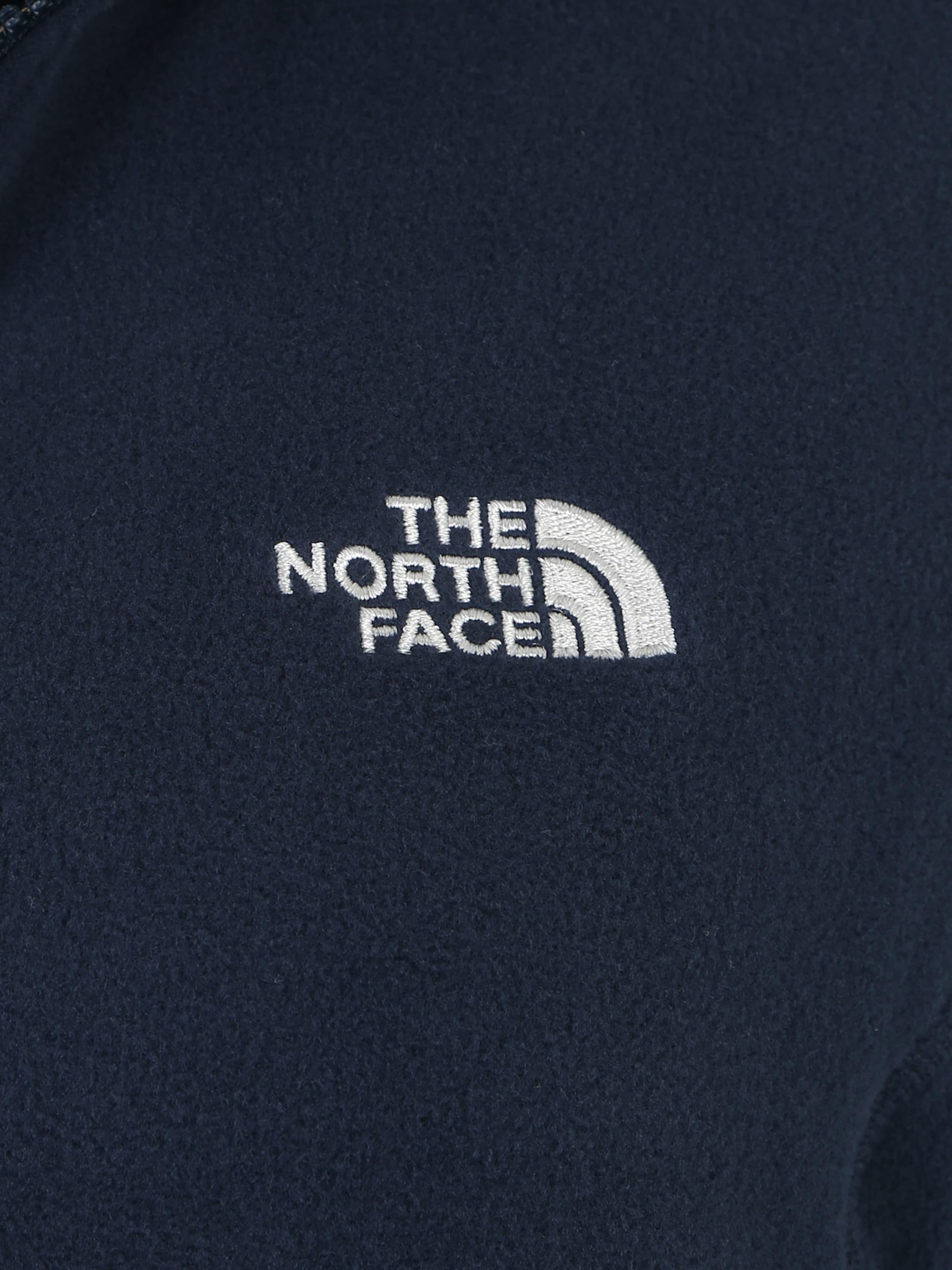 En '100 North Bleu Face Polaire Glacier' The Fonctionnelle Veste RSjqL35c4A