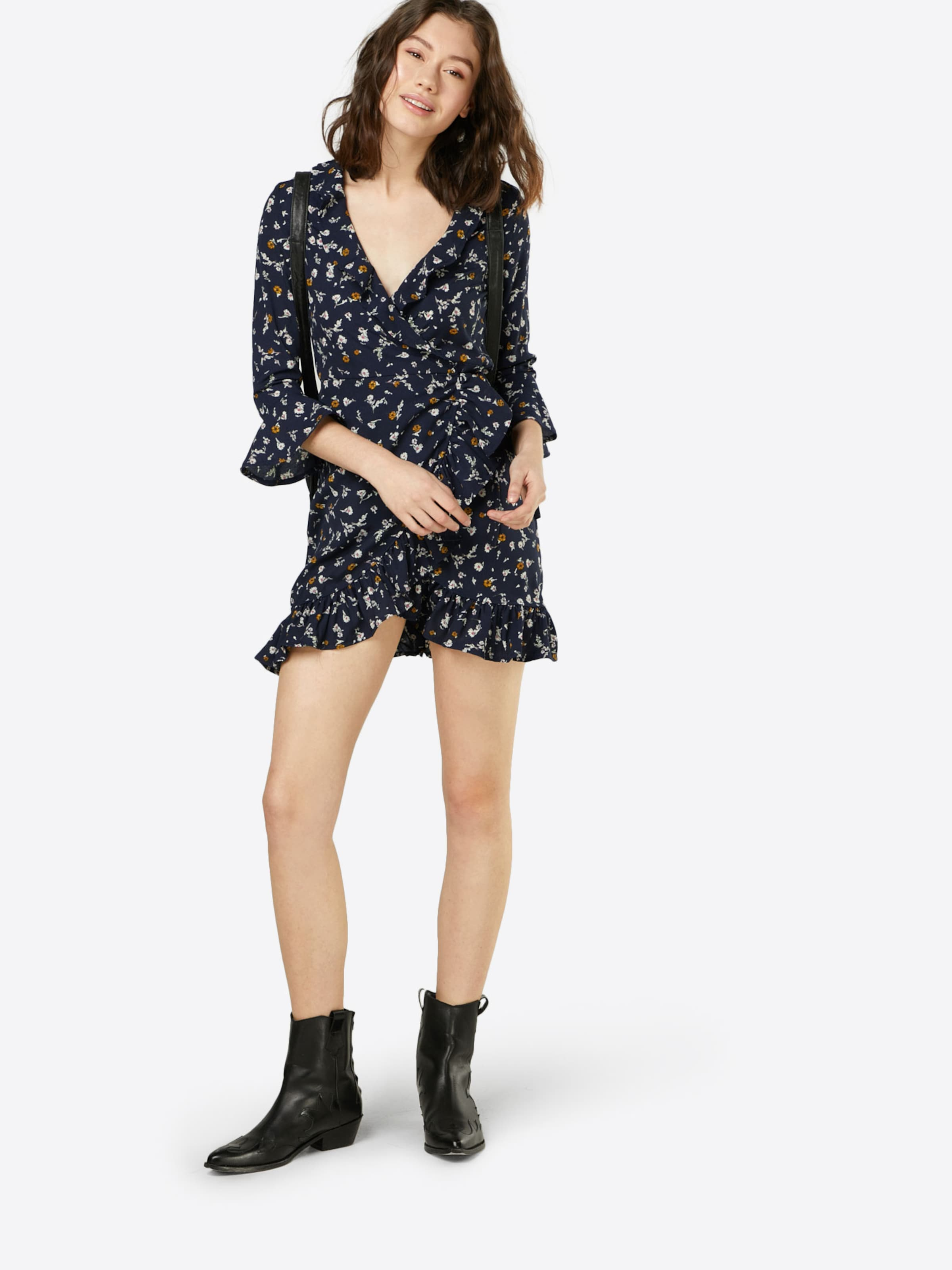Boohoo En 'bethany Floral' NuitBlanc Robe Bleu xdBorCe