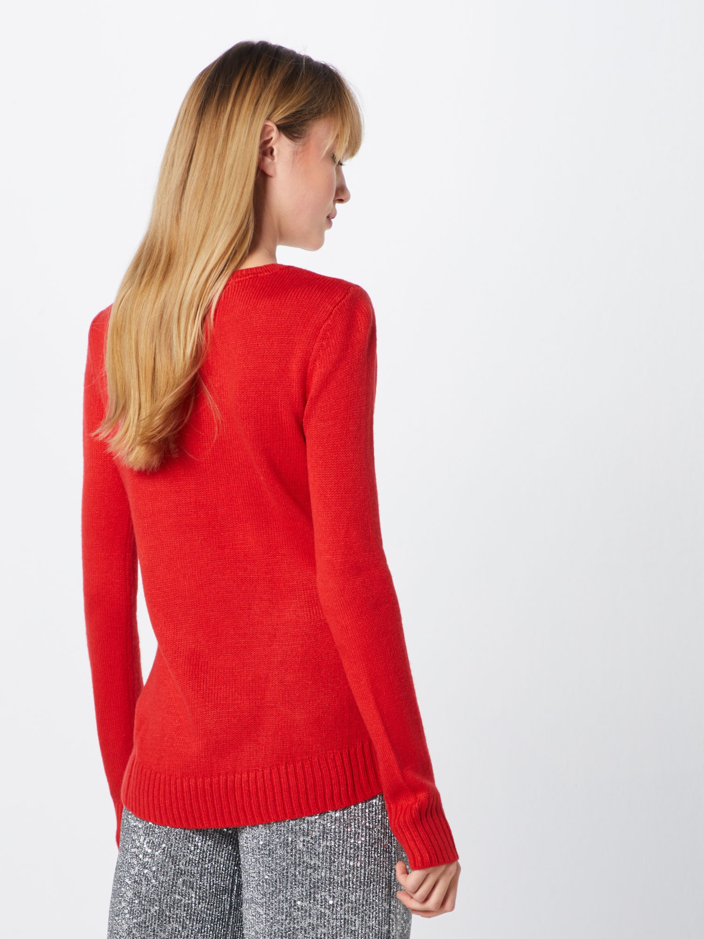 Pullover In Rot Tom 'christmas' Tailor 0OyvnwmN8
