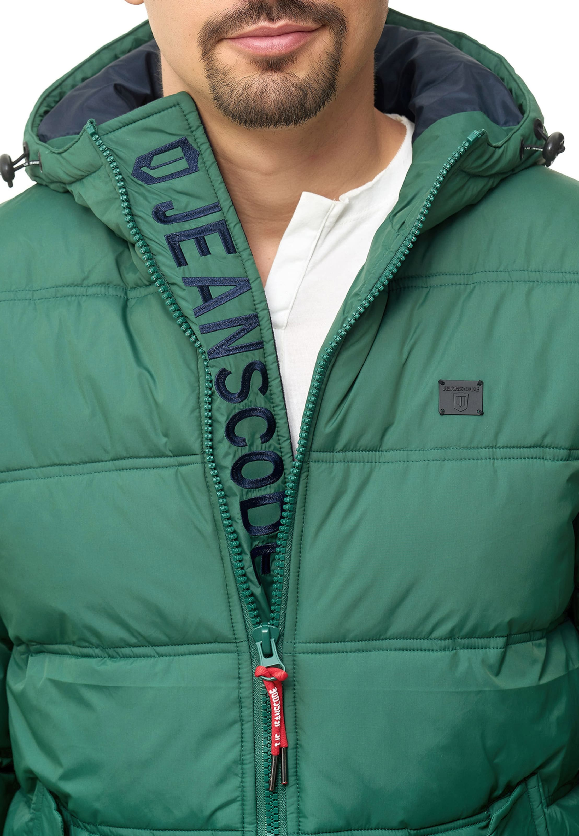Indicode Olive D'hiver 'bacon' Jeans Veste En N0OPkwXn8