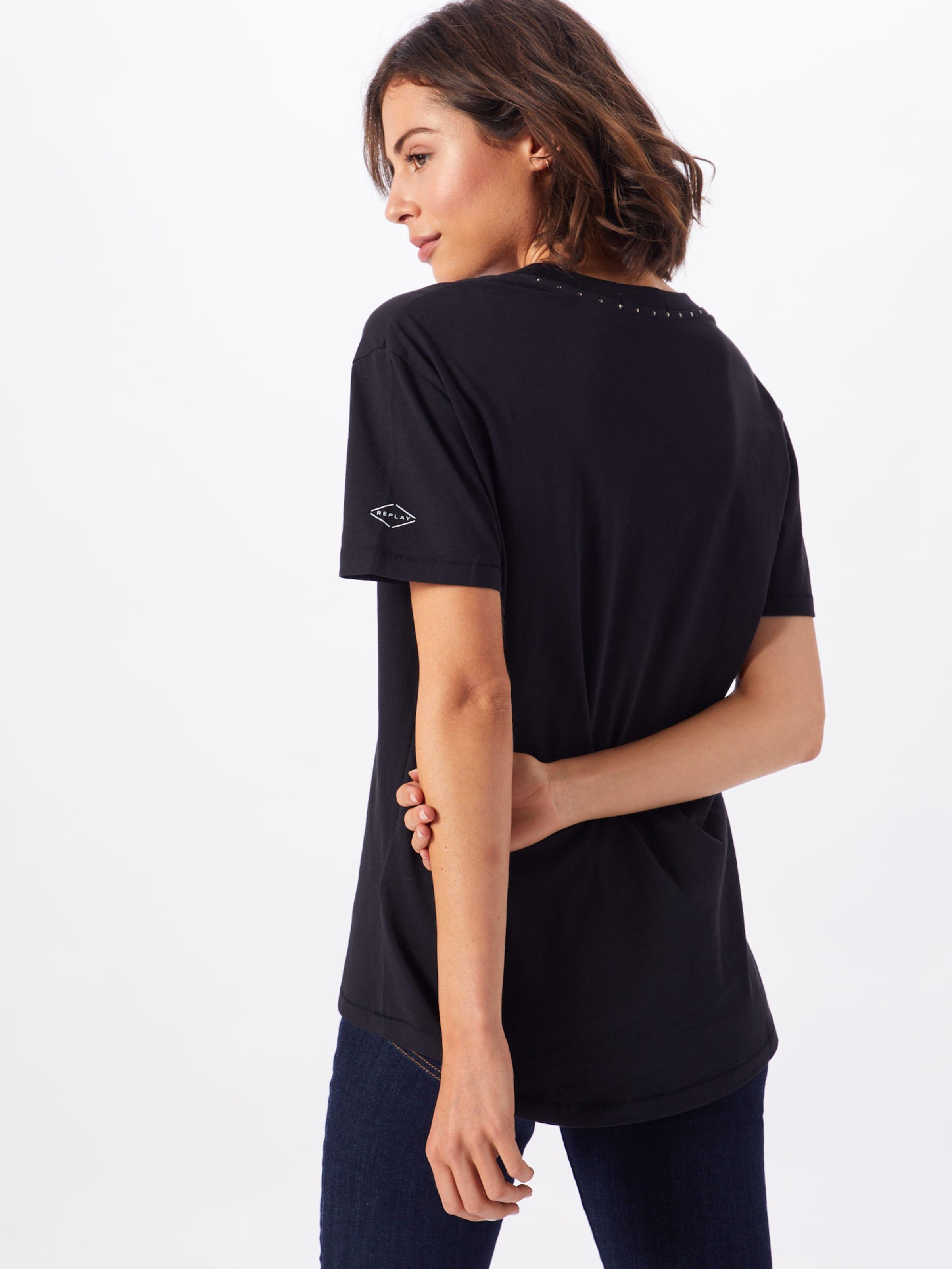 En Replay T Replay shirt Replay T Blanc shirt T Blanc En kXuZPi