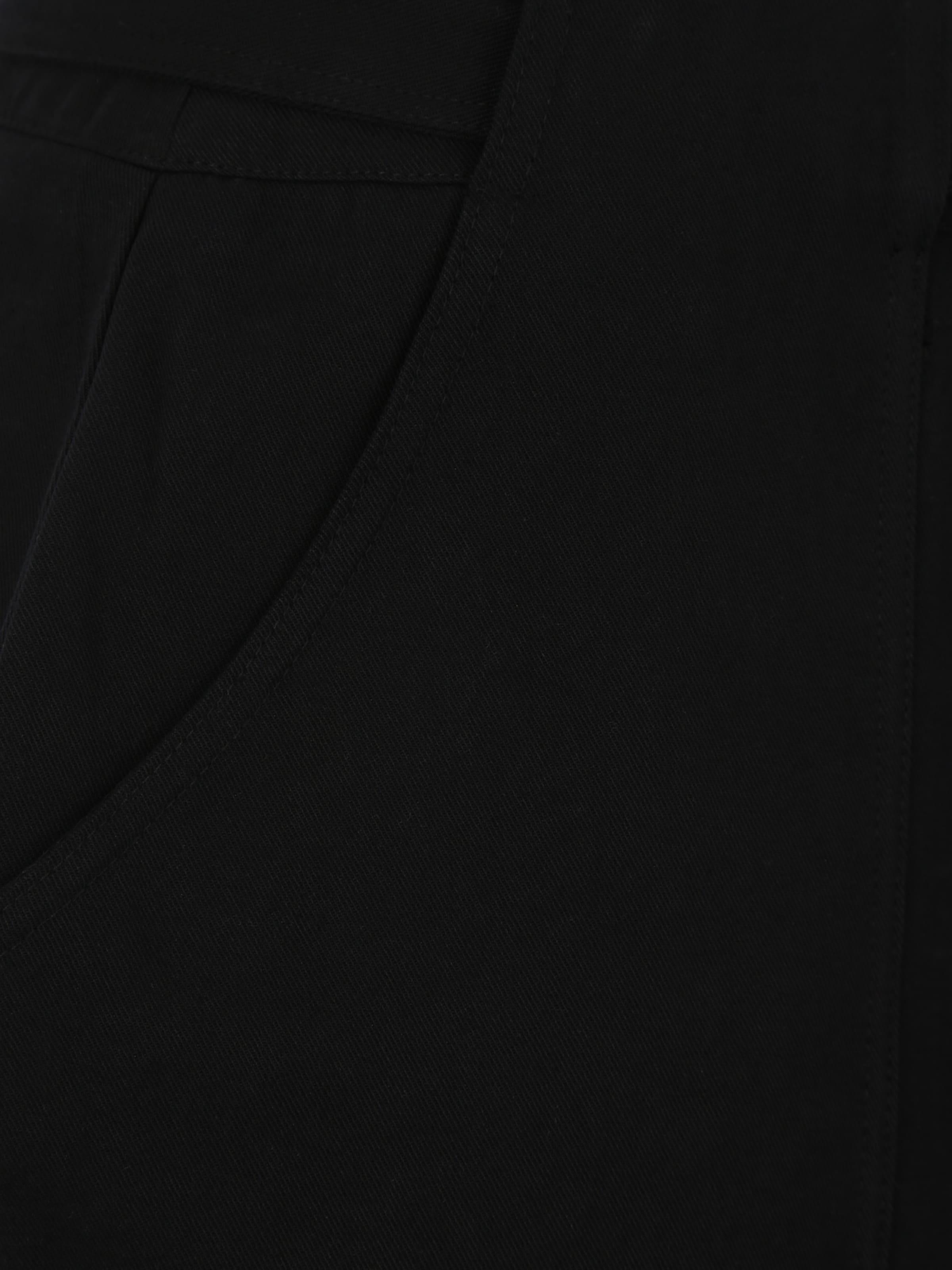 Lost Plus Pantalon Cotton En Noir 'black Trouser' Utility Ink Peg X8wkO0Pn