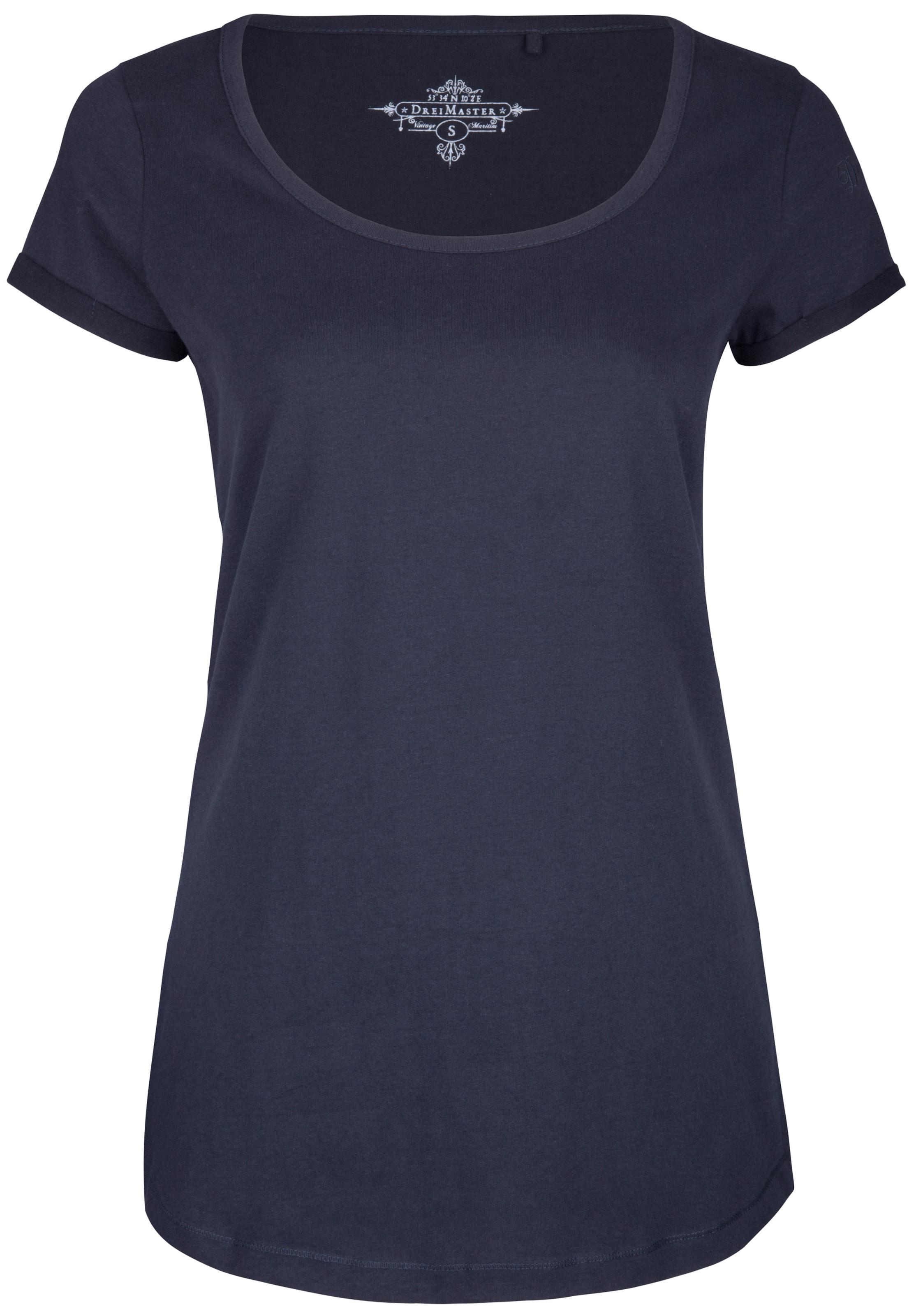 Dreimaster shirt T Marine En T shirt Dreimaster 8n0wkOPX
