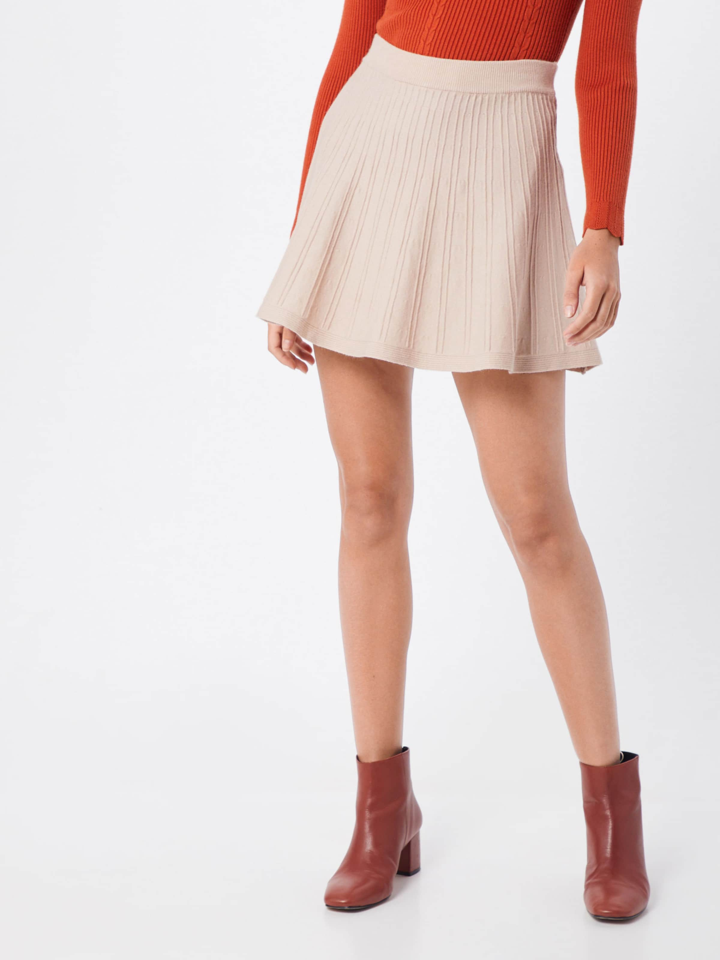 'flipside Parallel En Skirt' Lines Jupe Nude m8OvNPnwy0
