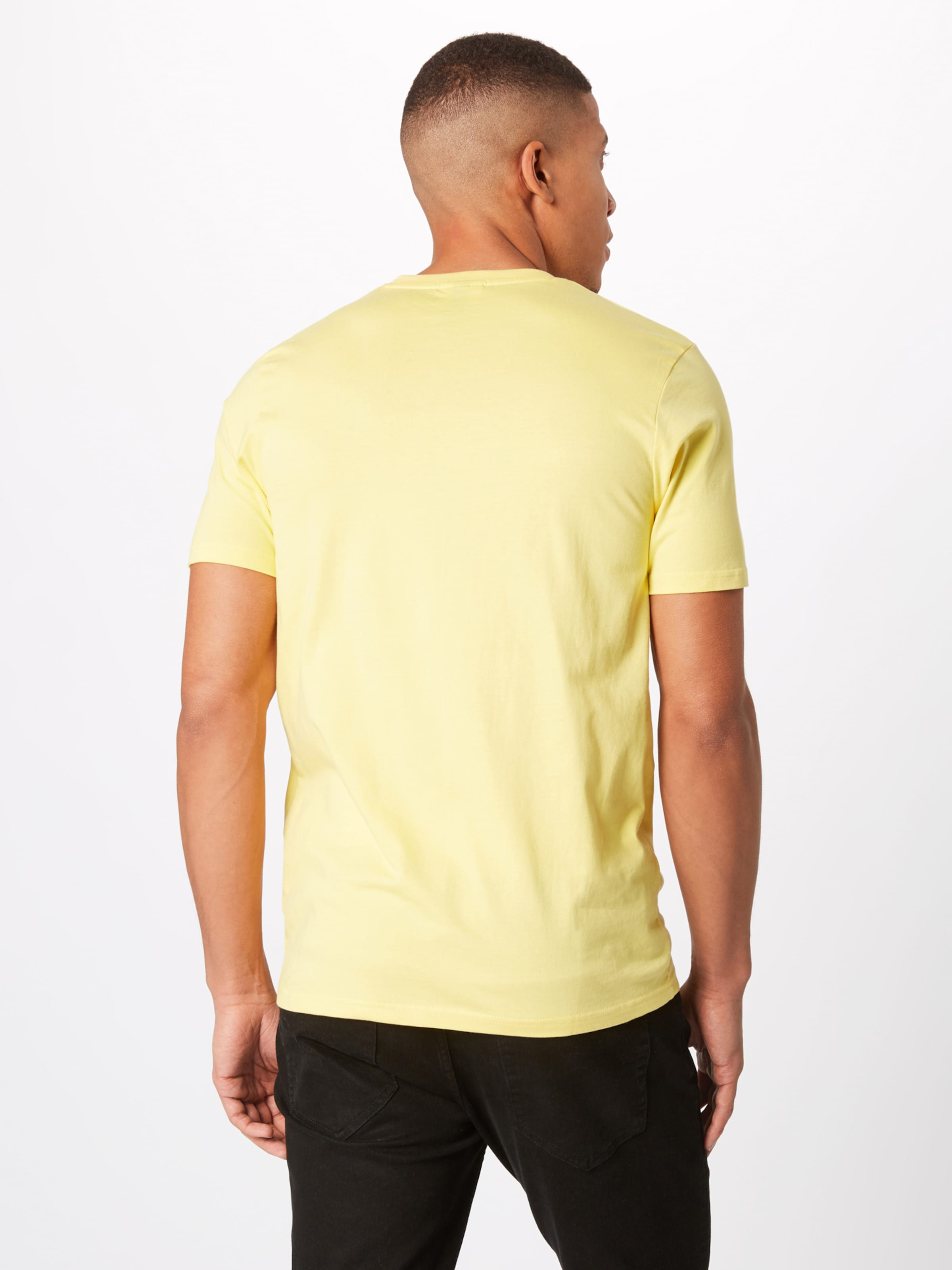Bleu T shirt En FoncéGris Chiné Ellesse 'prado' SzVpqGLUM