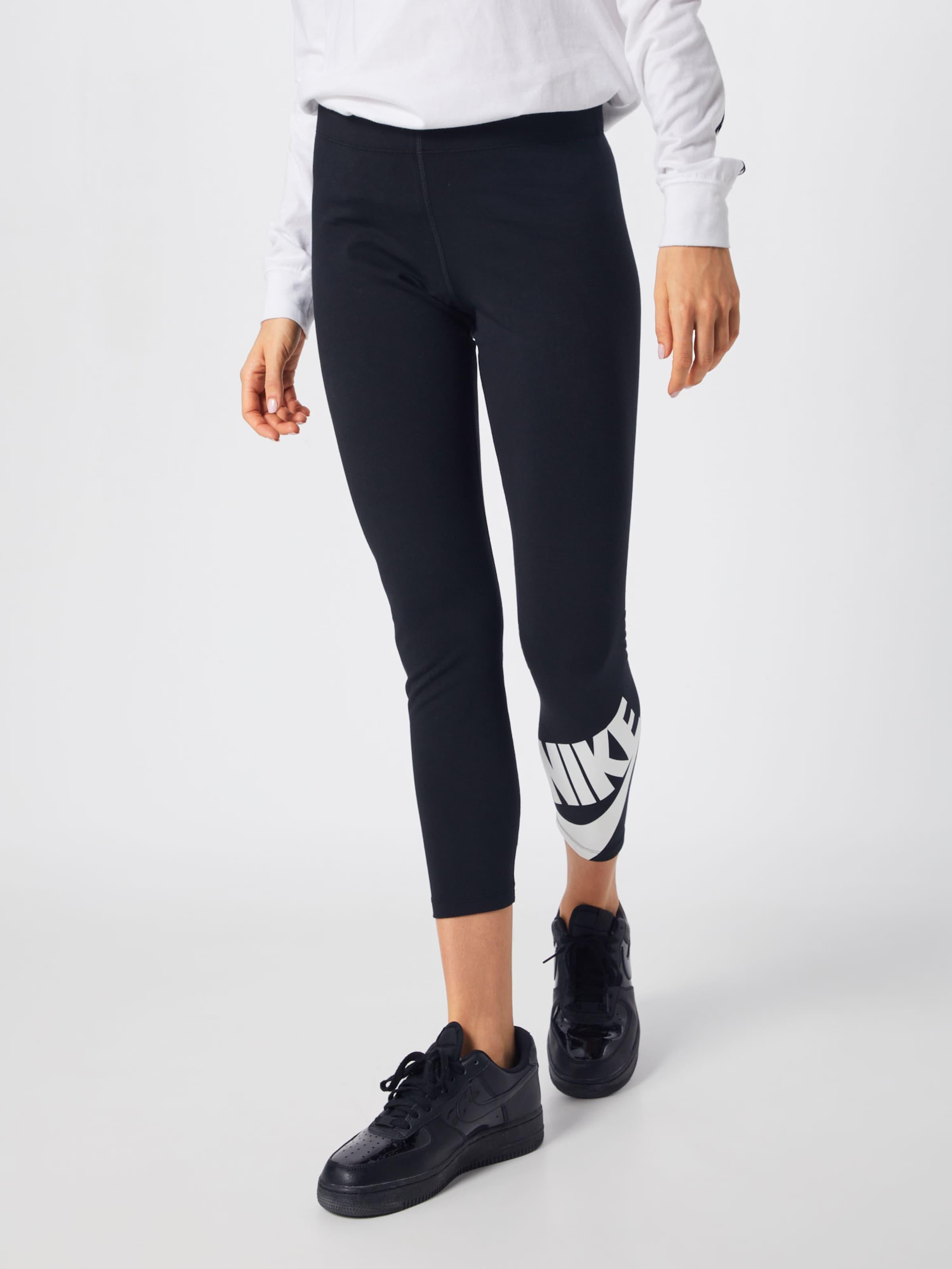 Nike 8 Futura' Sportswear SchwarzWeiß In 7 Leggings 'legasee nwmyN8Ov0