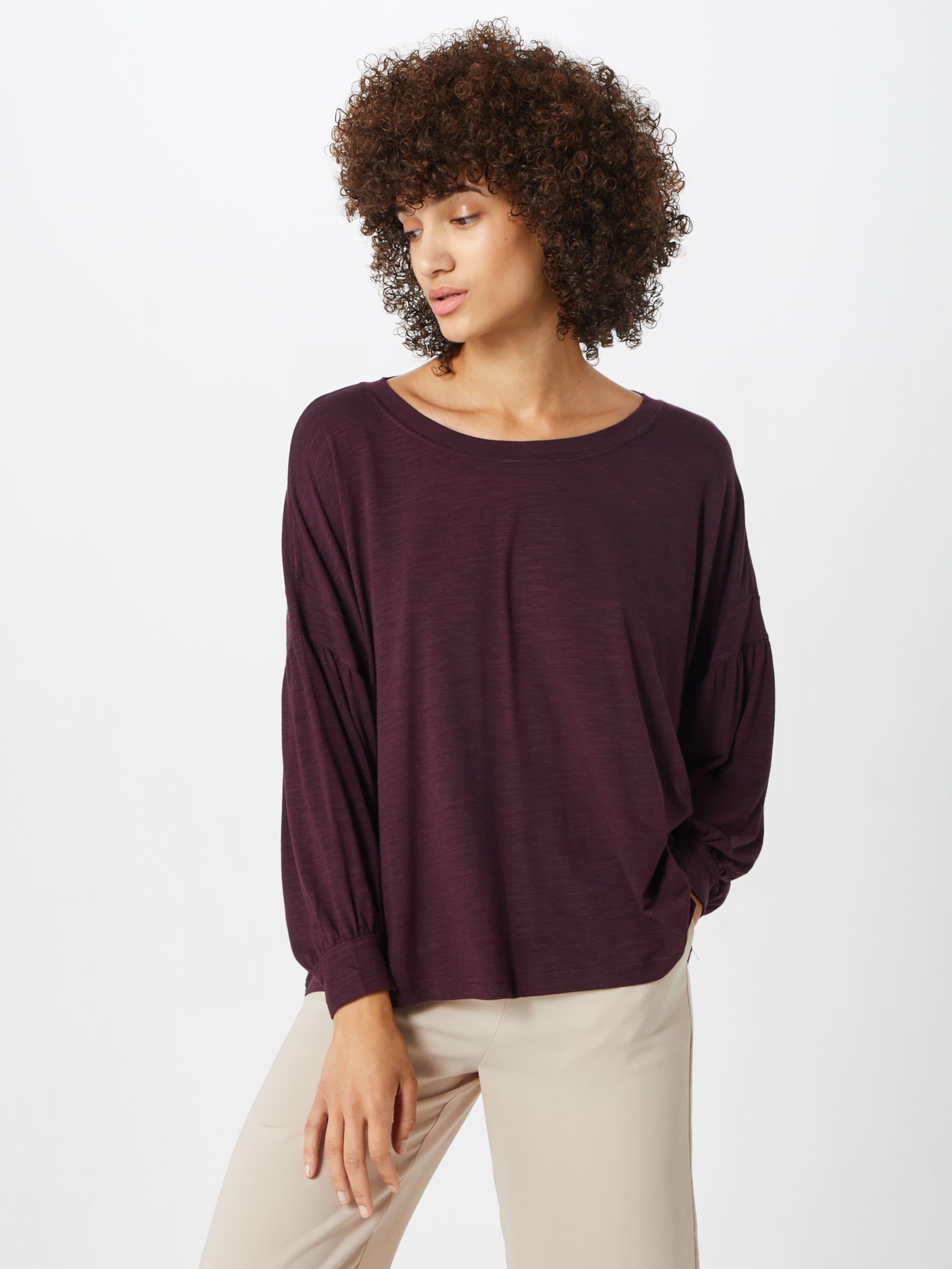 'ls Slv shirt Top' Bourgogne Vlm En Gap T 4ARjL5