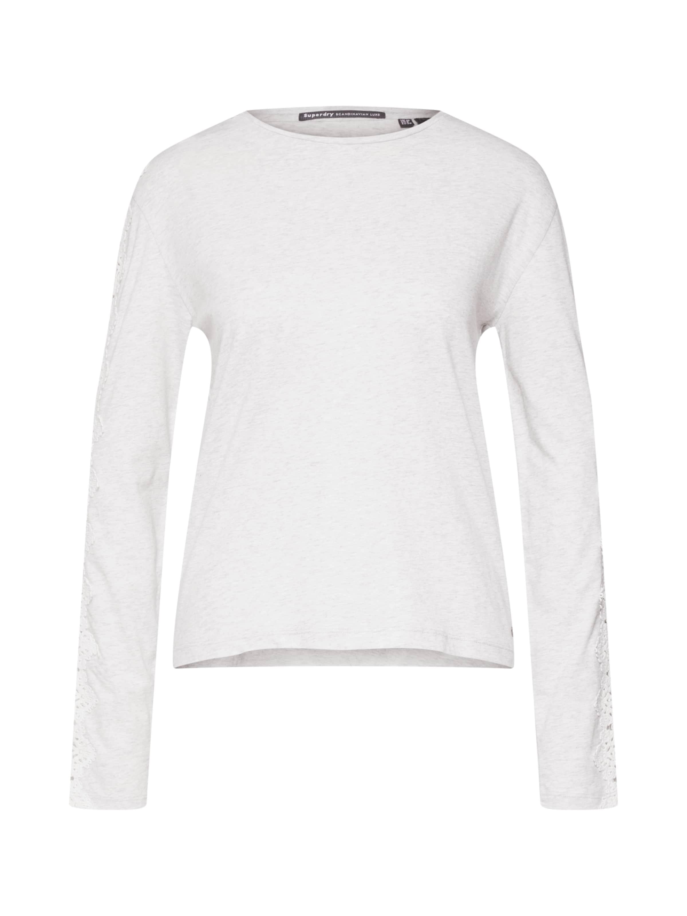 T shirt En Superdry Cassé NoirBlanc A5LR4j