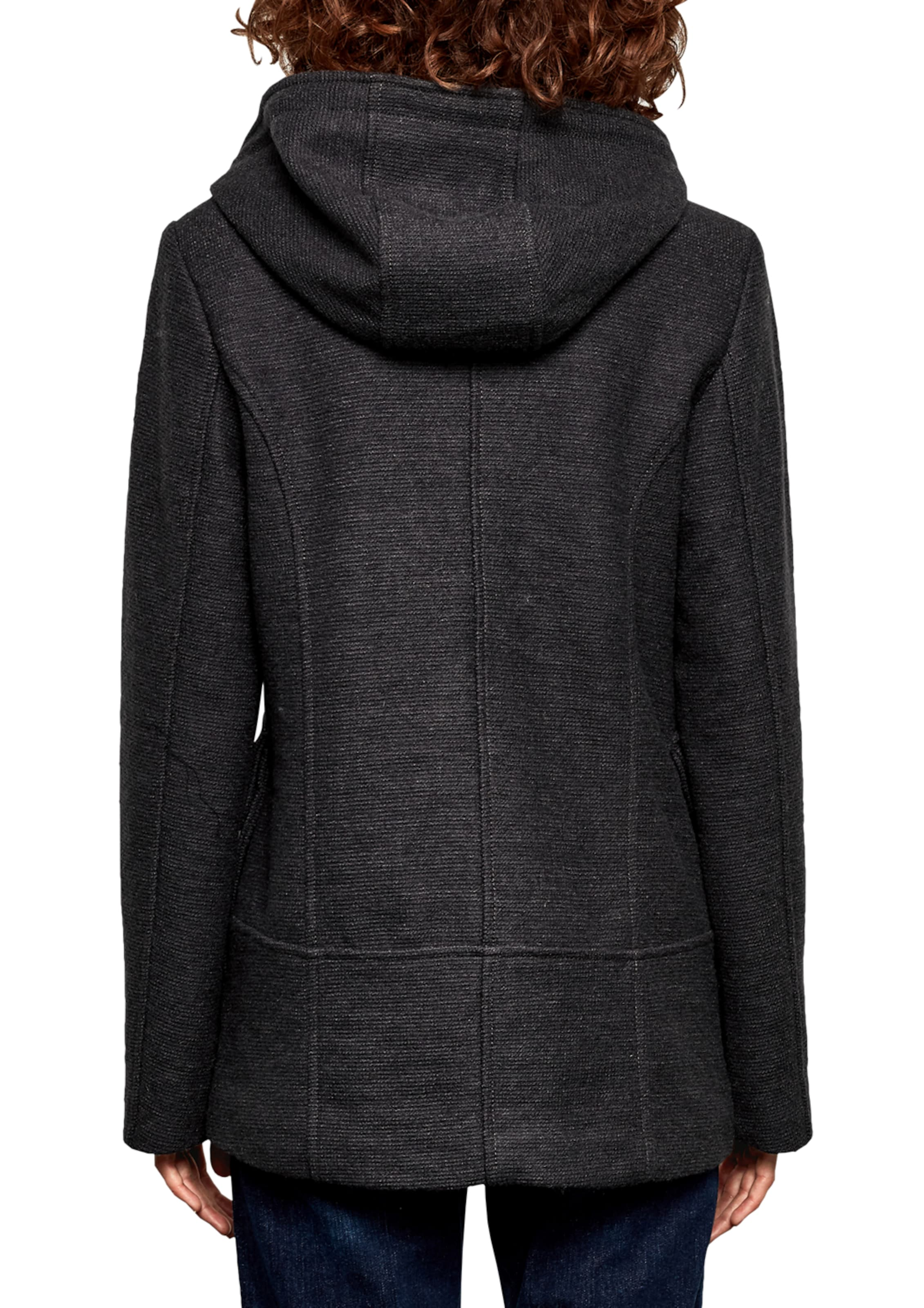 Q By Designed s In Parka Schwarz TlJ1FcK