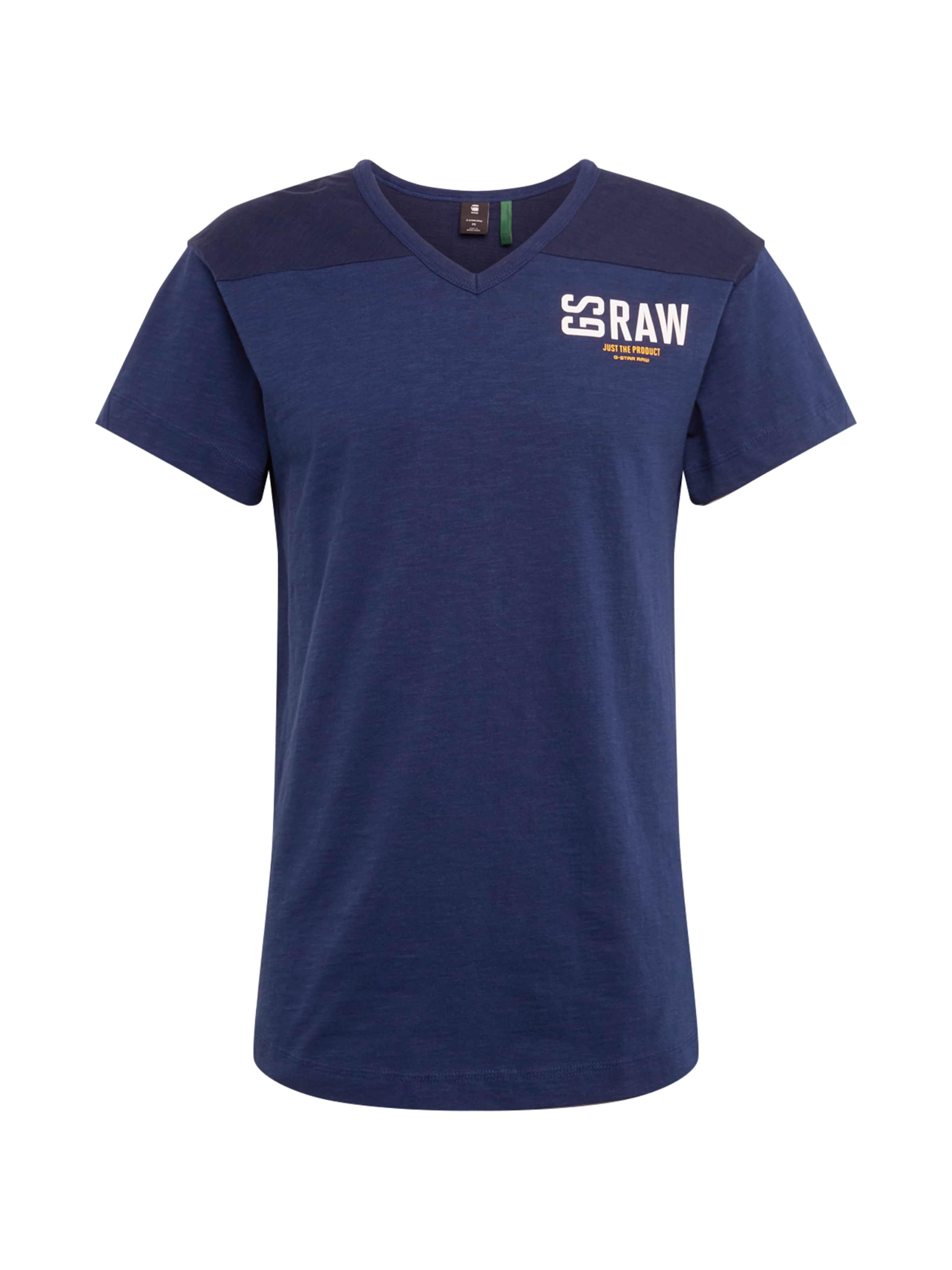 star Foncé 'graphic 17' En shirt T Raw Bleu G k80OZwXNnP