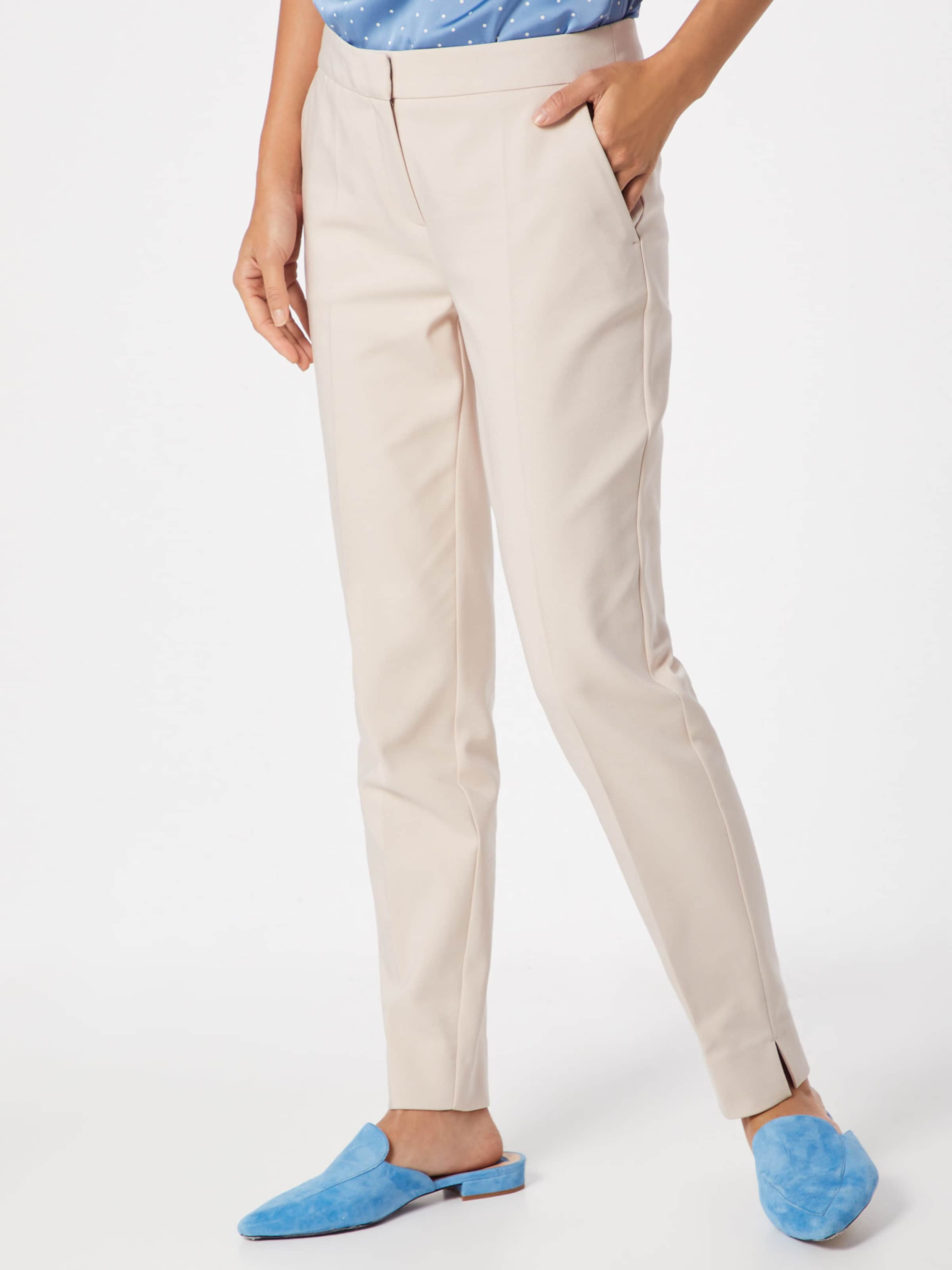 Comma Pantalon Plis En À Beige fYy6gb7