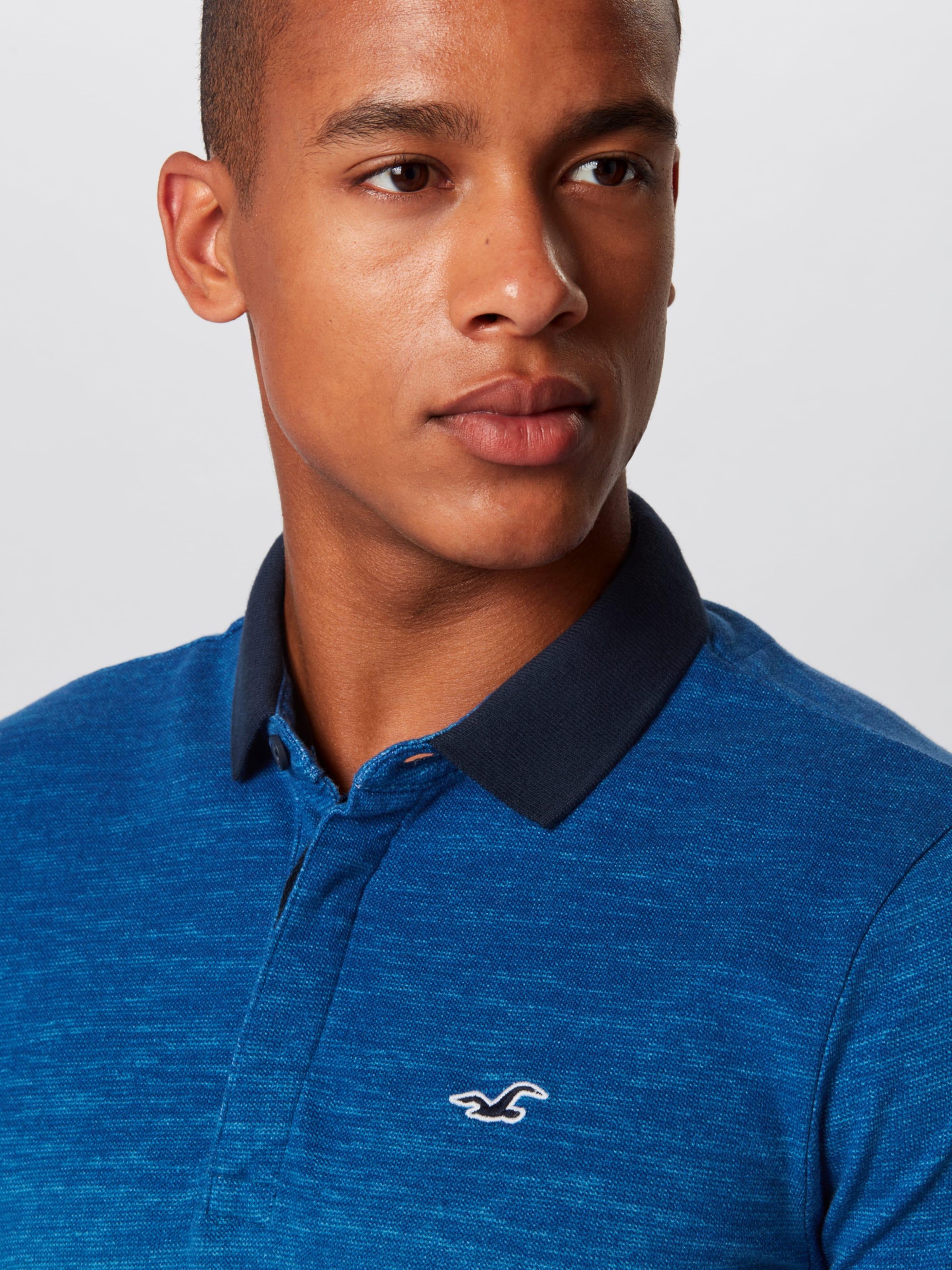 Marine Bleu En Hollister T shirt cLqS3R5Aj4