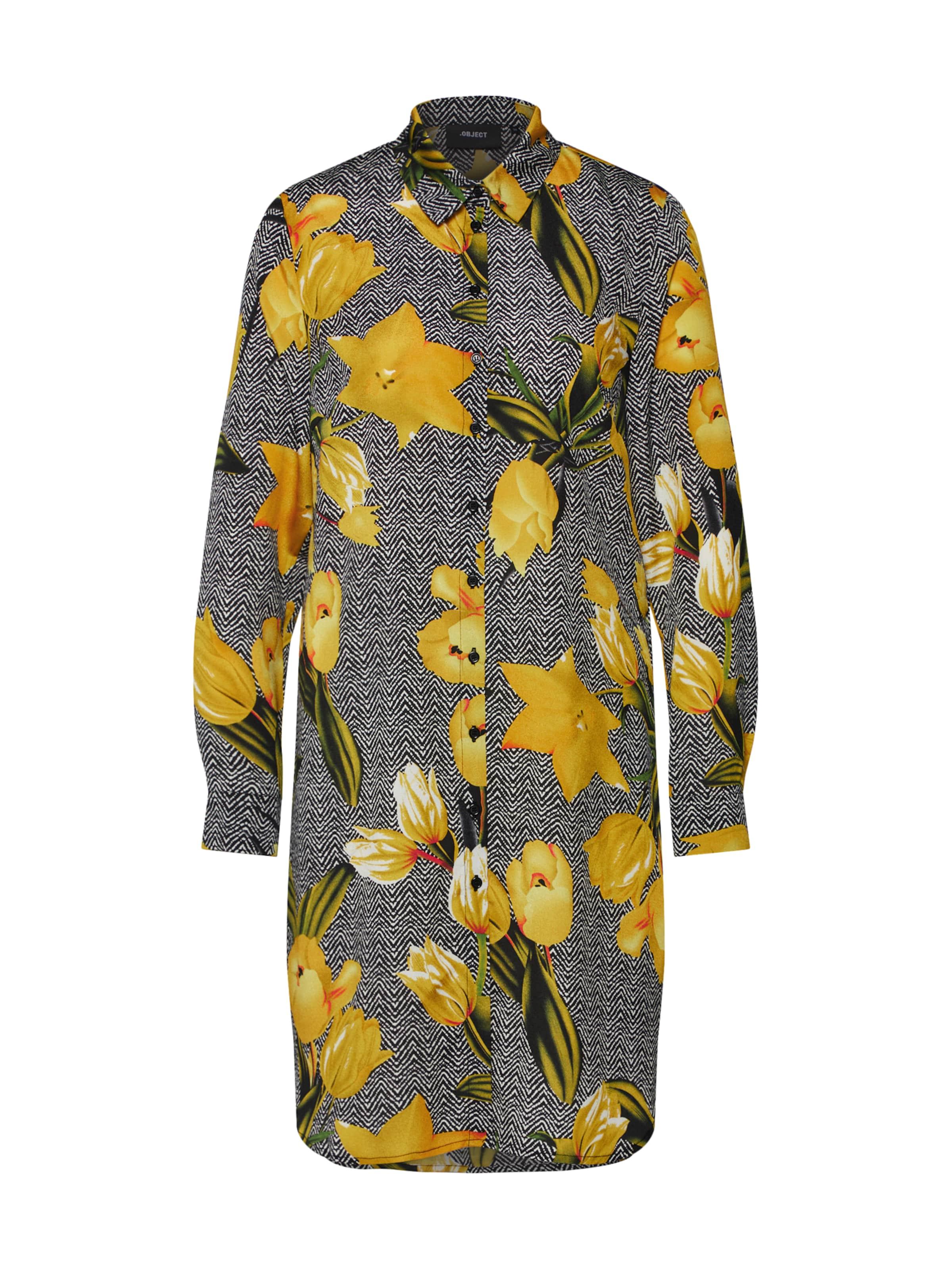 Object chemise chemise Object En JauneNoir Robe Robe QdtxohrCBs