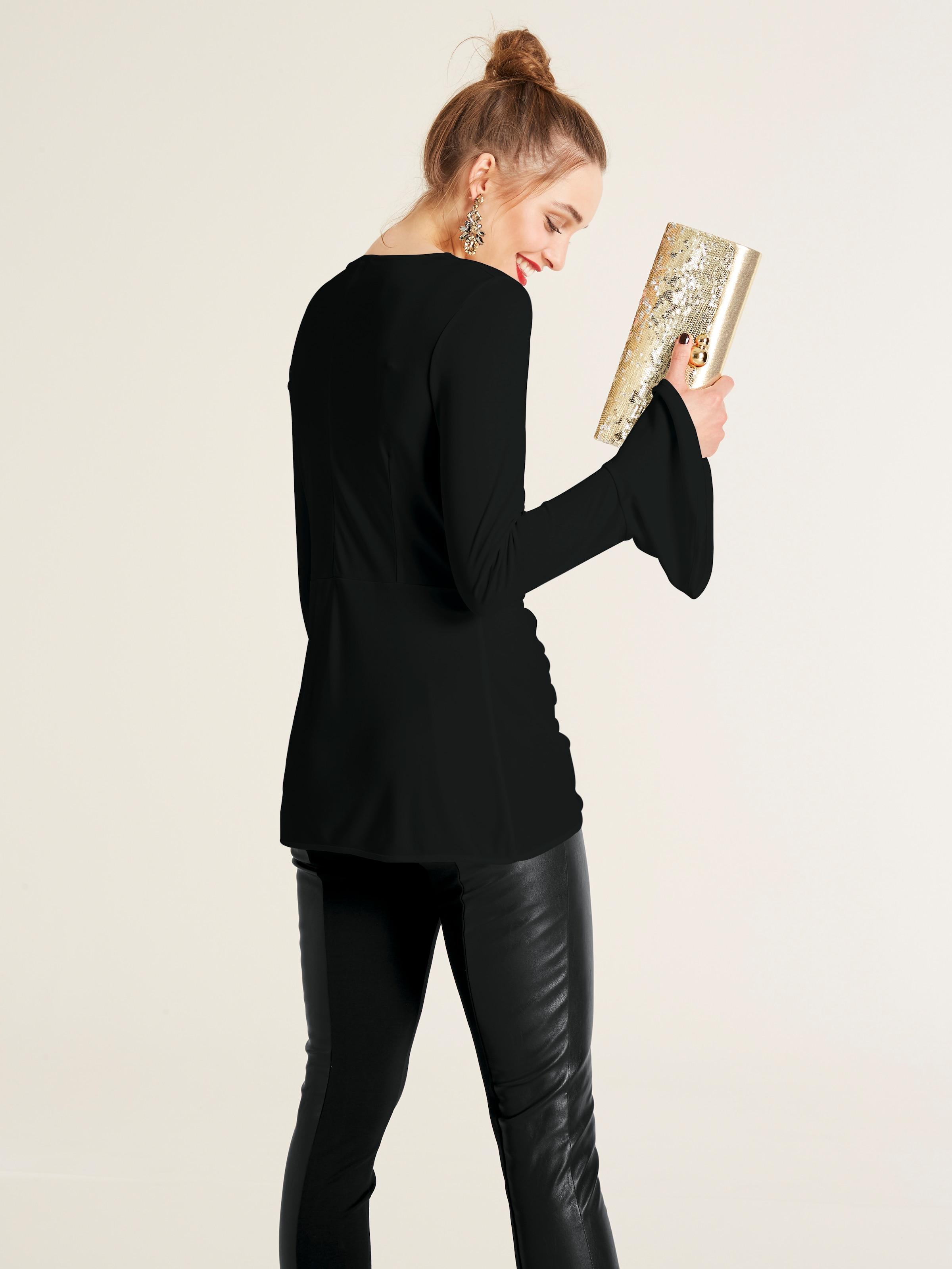 shirt Noir Heine T En Heine 35RcAj4Lq