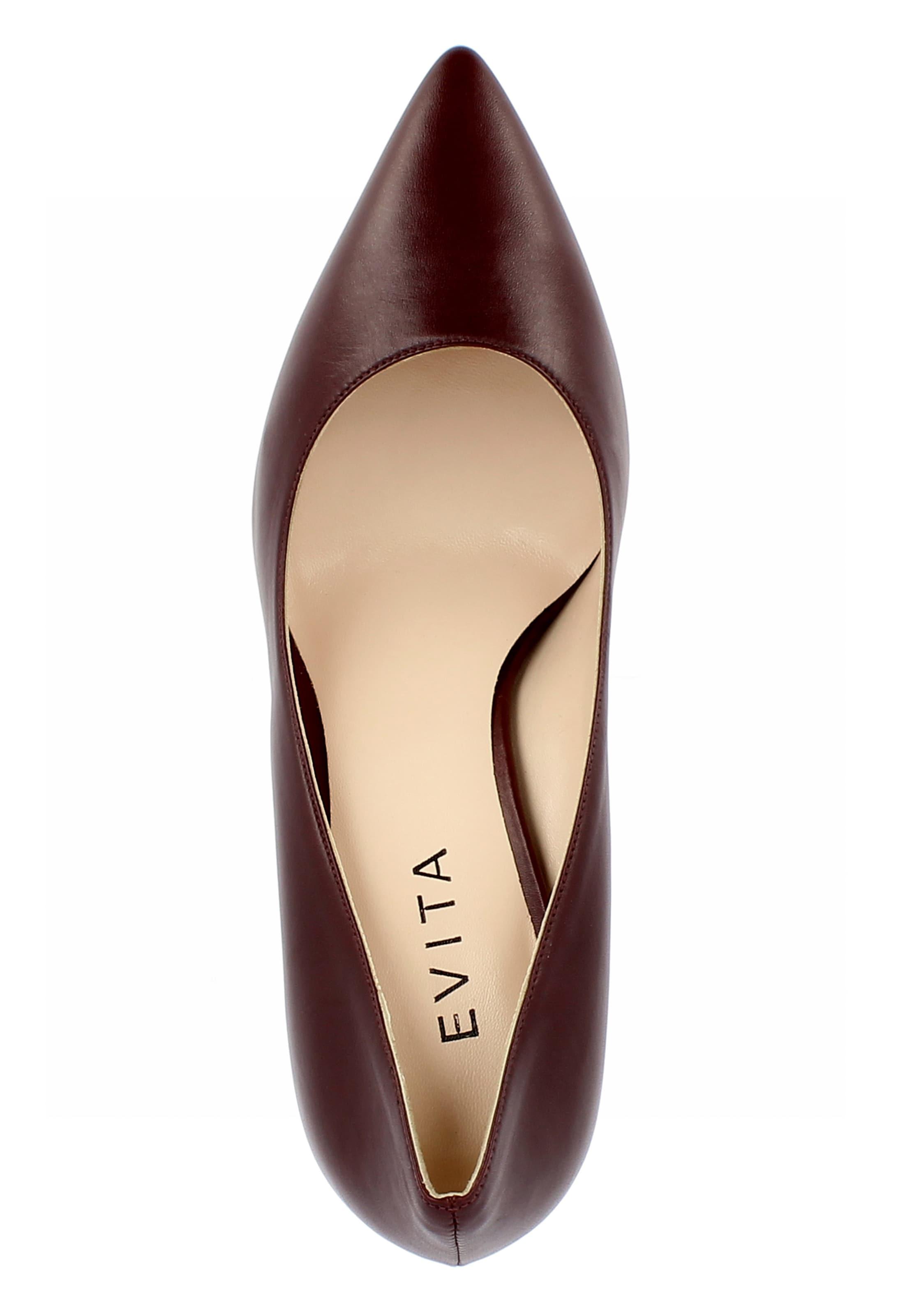 Bordeaux Evita Escarpins 'ilaria' Escarpins 'ilaria' En Evita En Bordeaux EDeW29HIY