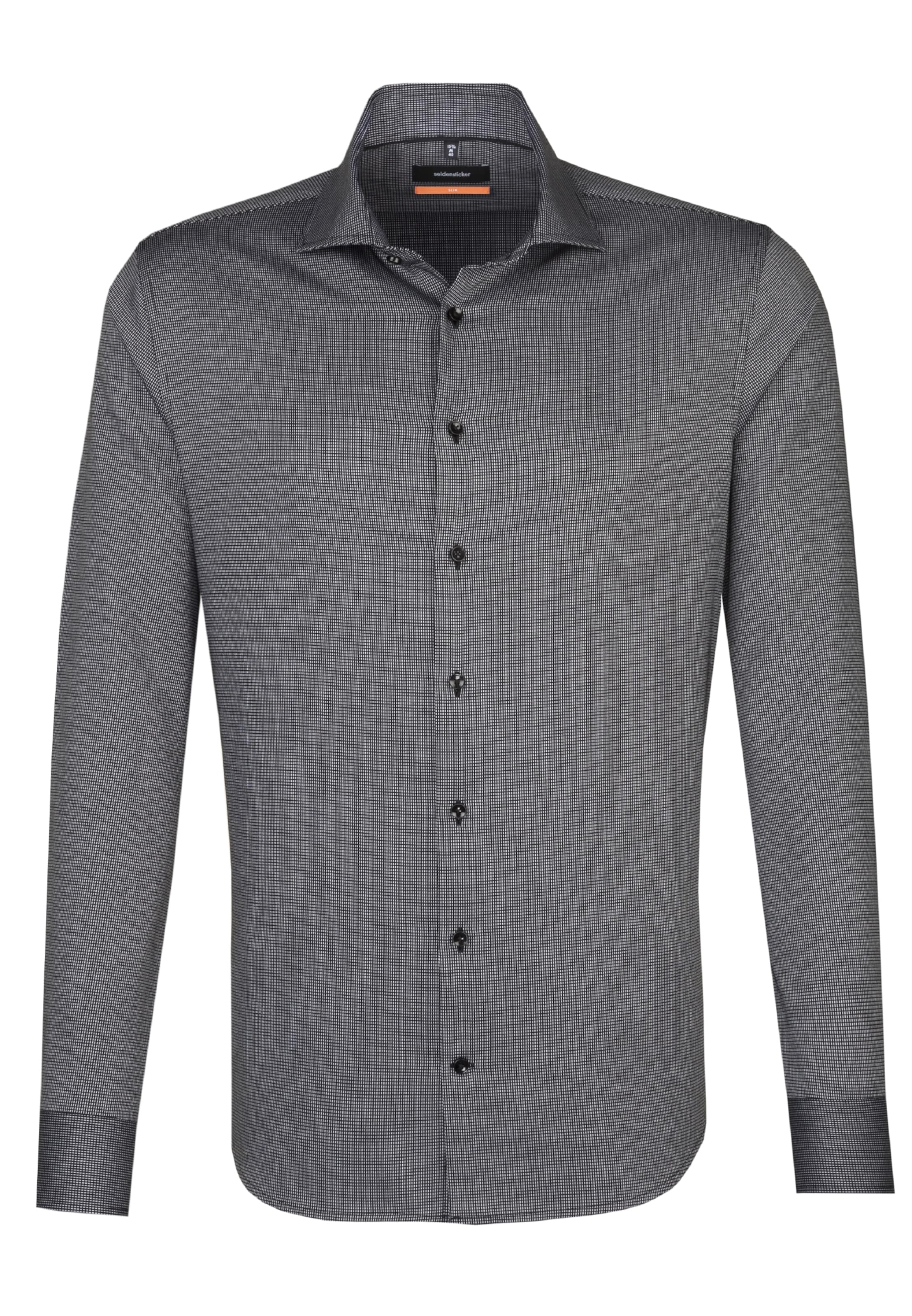 Seidensticker En Business 'slim' Chemise Anthracite TJc3FlK1