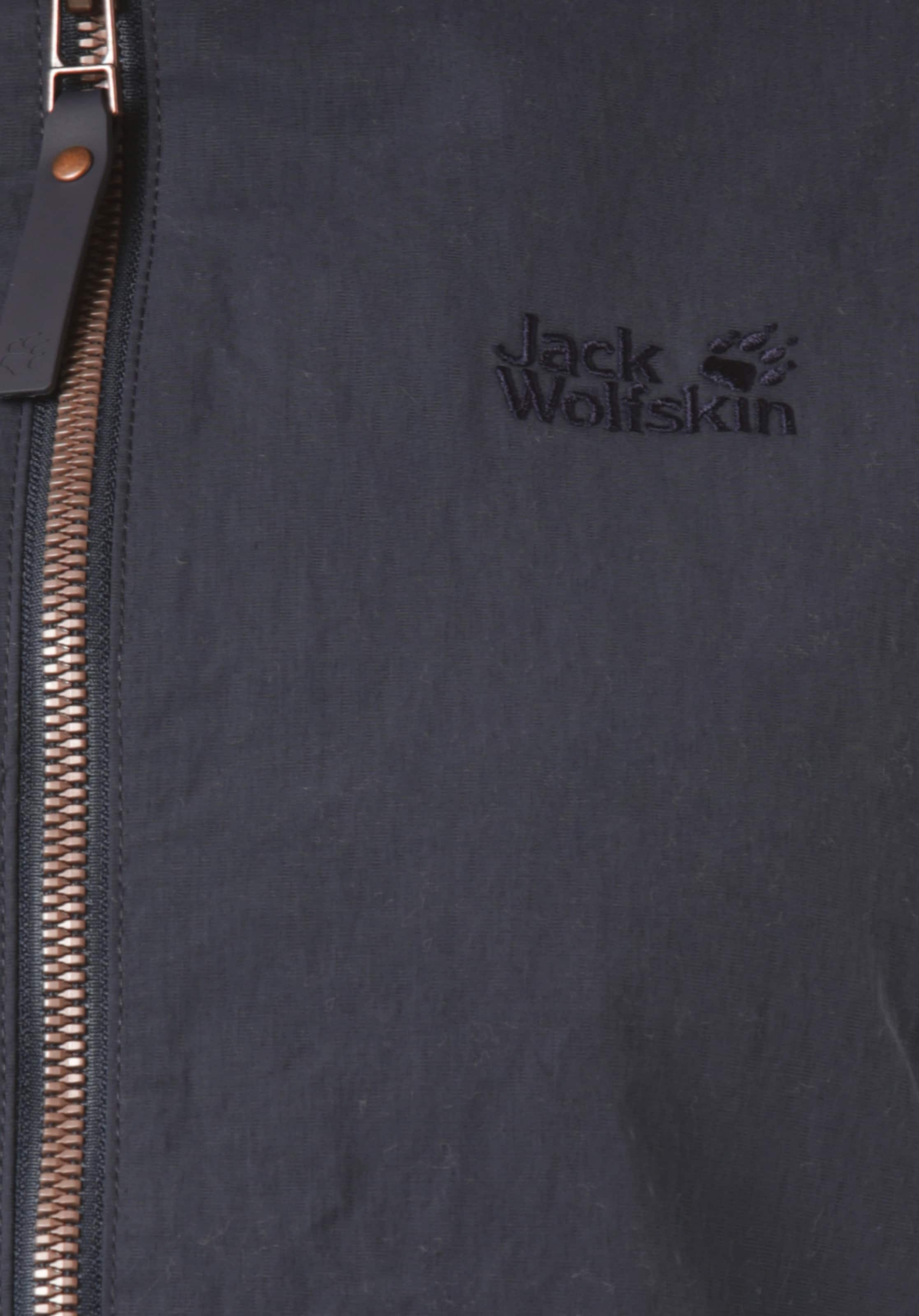 Jack Bleu En Outdoor Wolfskin 'lakeside' Veste Nuit srdthQCx