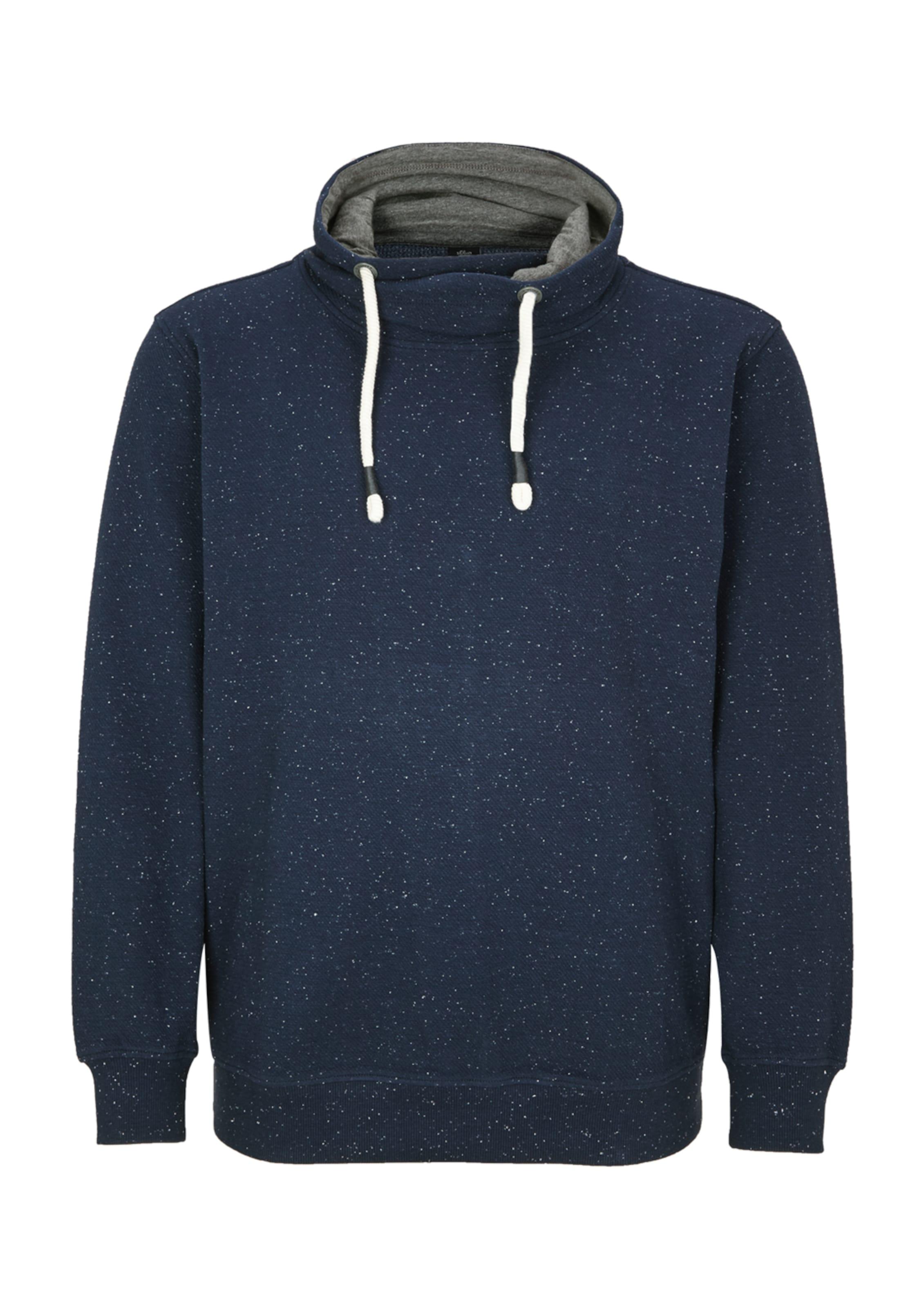 S Red Sweatshirt In Label oliver DunkelblauWeiß qSLpGUzMV