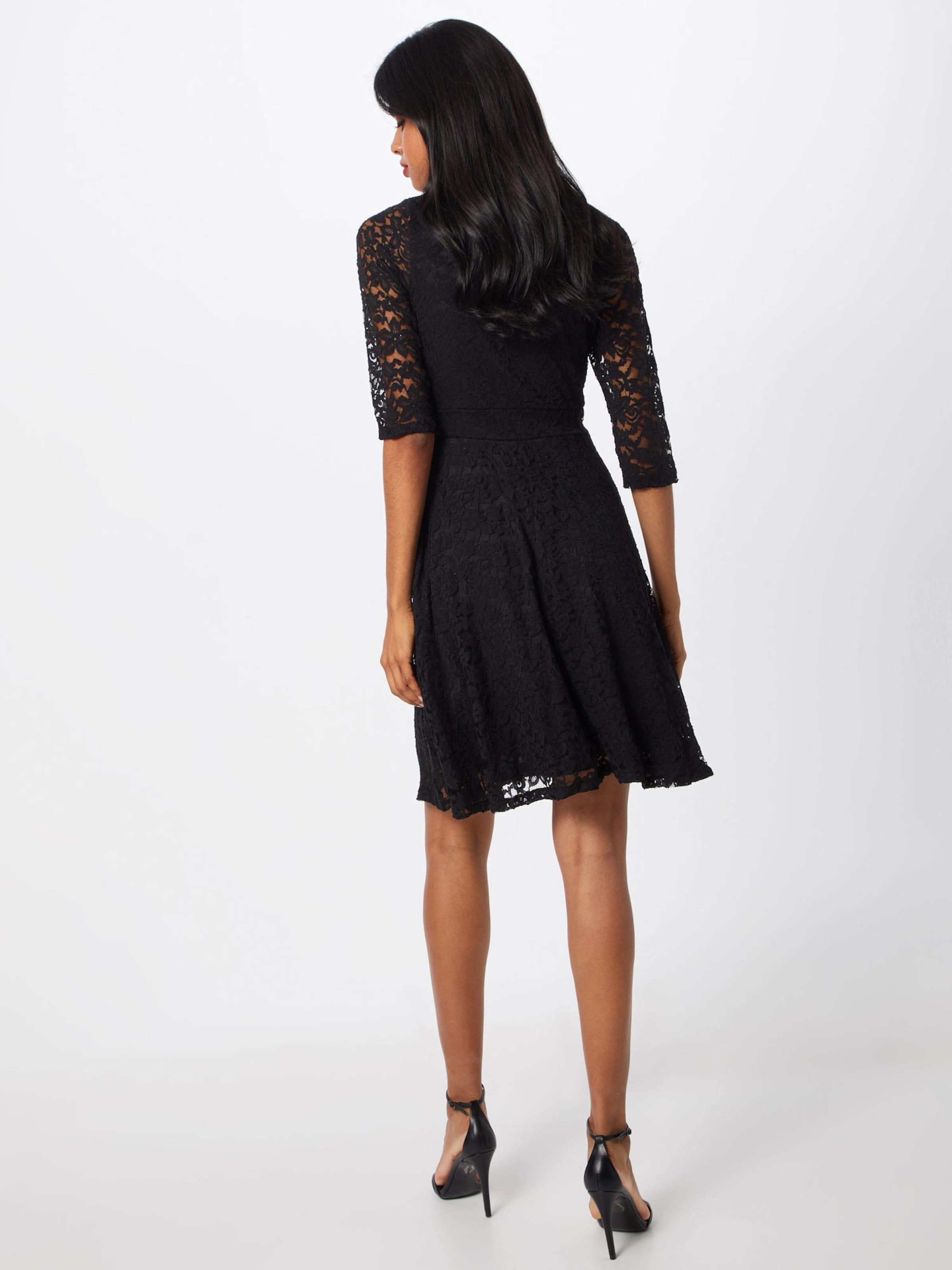 Cocktail Long Noir De Lace London En 'delicate Dress' Mela Sleeve Robe BxedCo