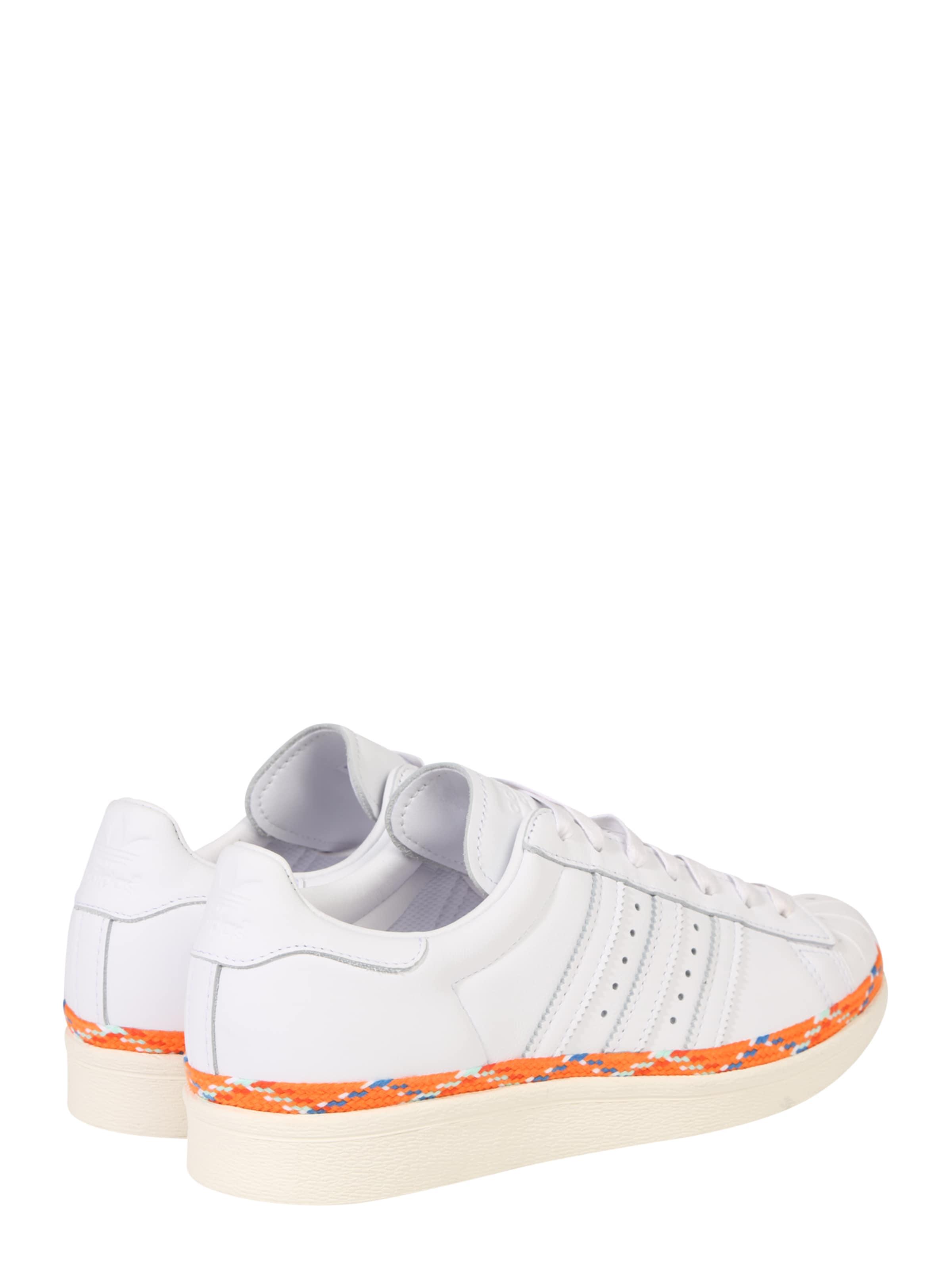 Baskets 'superstar Adidas En 80s' Basses Originals Blanc nk0wO8PX