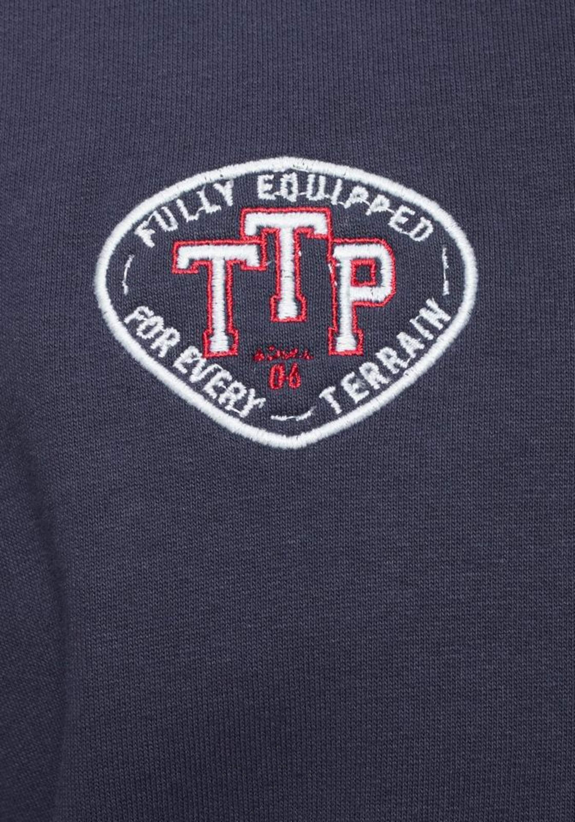 In Team Sweatjacke Tailor Marine Tom Polo PXukZOi