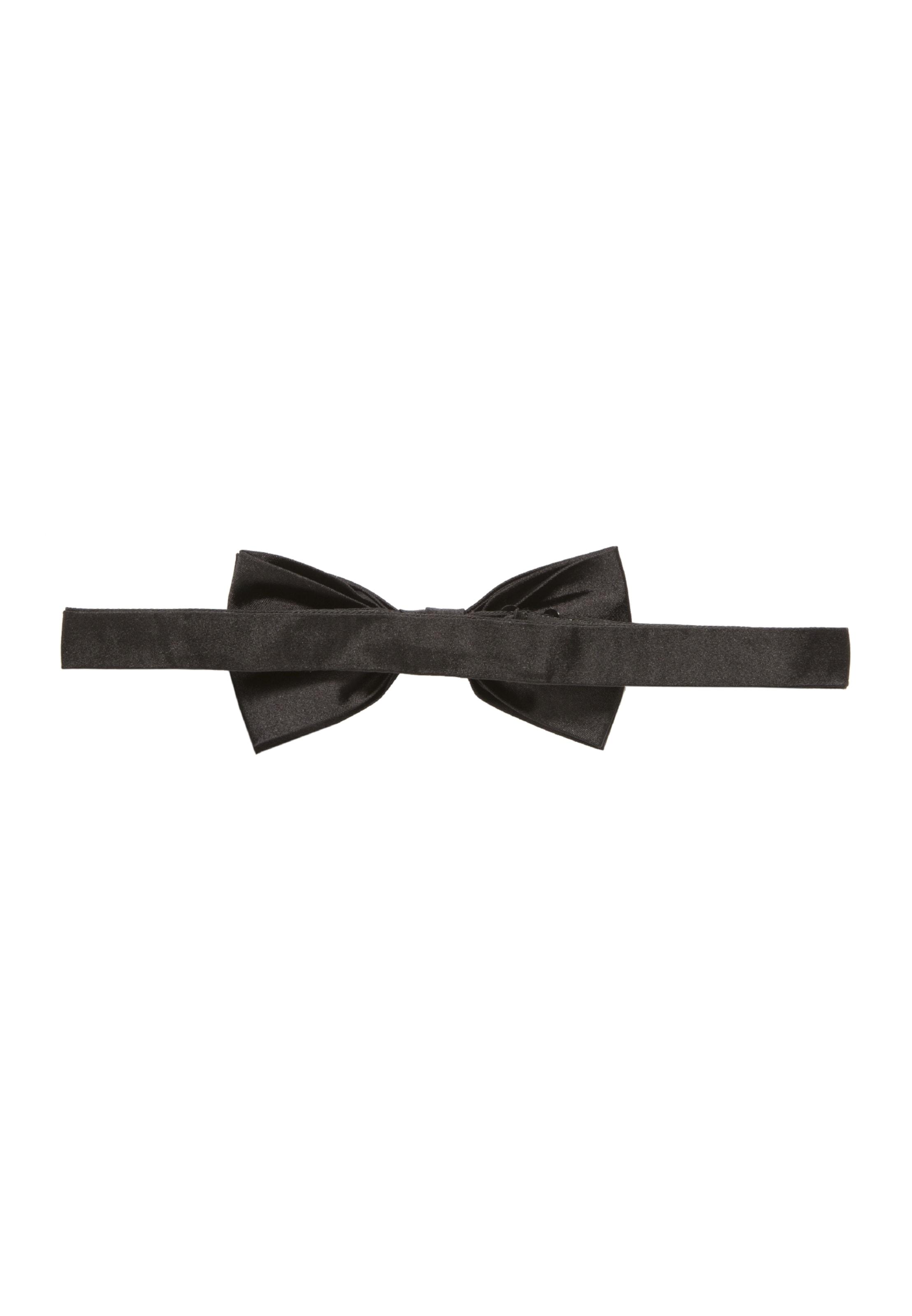' In Seidensticker Vlinderdasje 'schwarze Rose Zwart 5ALRj3c4q