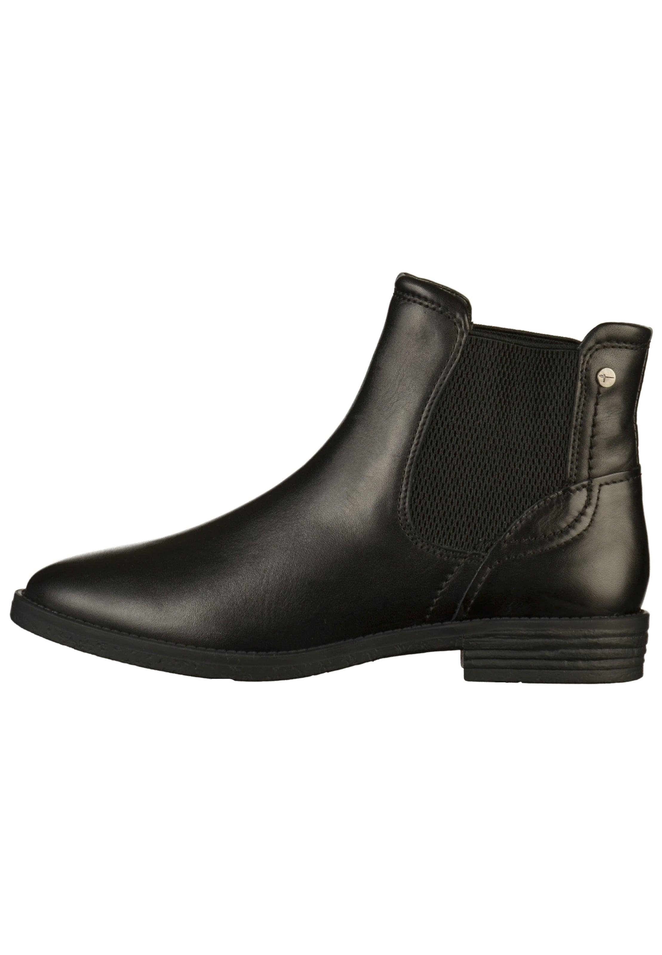 online store 03694 80c60 Boots Tamaris Chelsea Boots Chelsea In In Tamaris Zwart ...