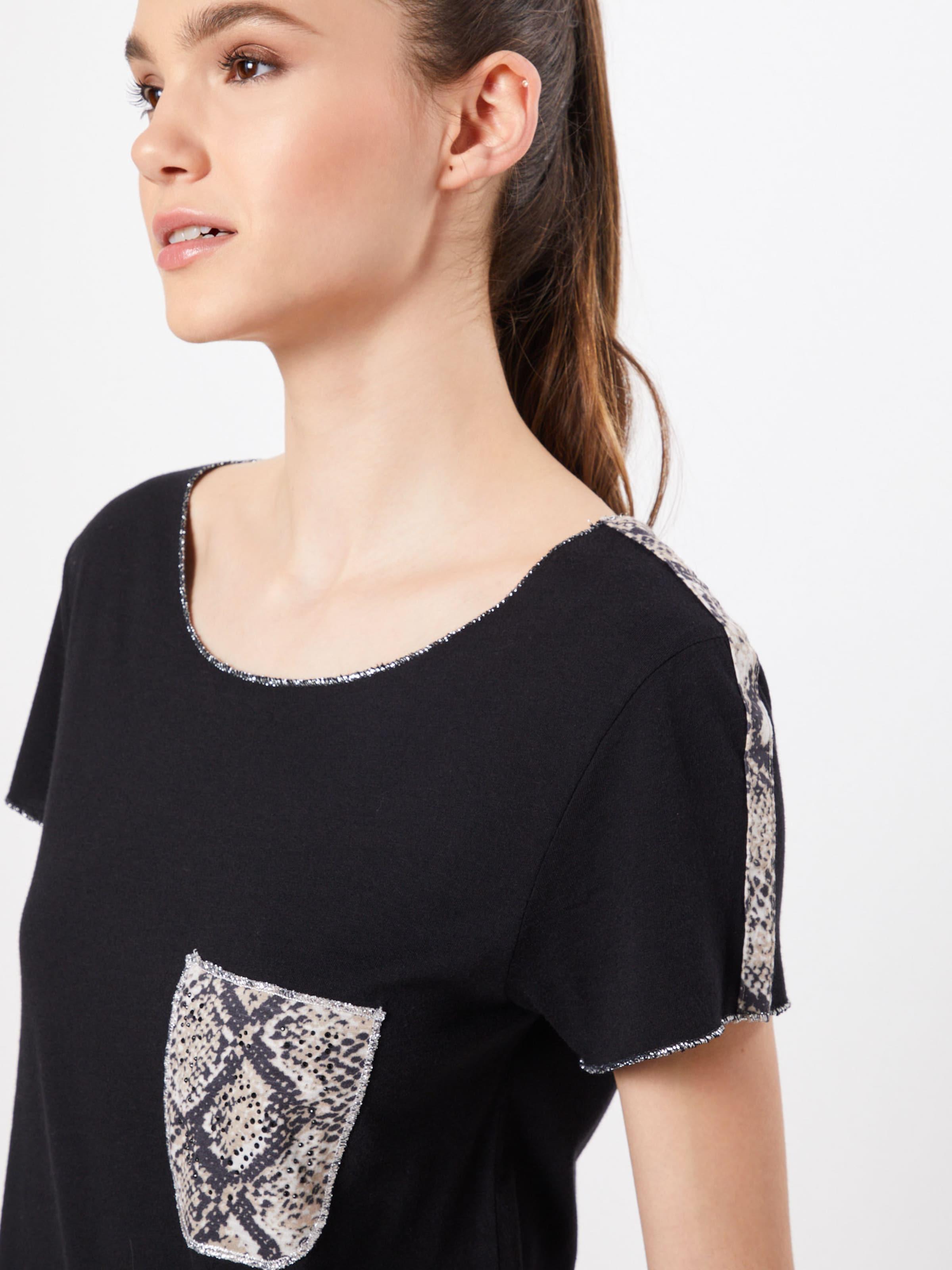 shirt Largo En Key T GrisBlanc 'emilia' n0O8vwmN