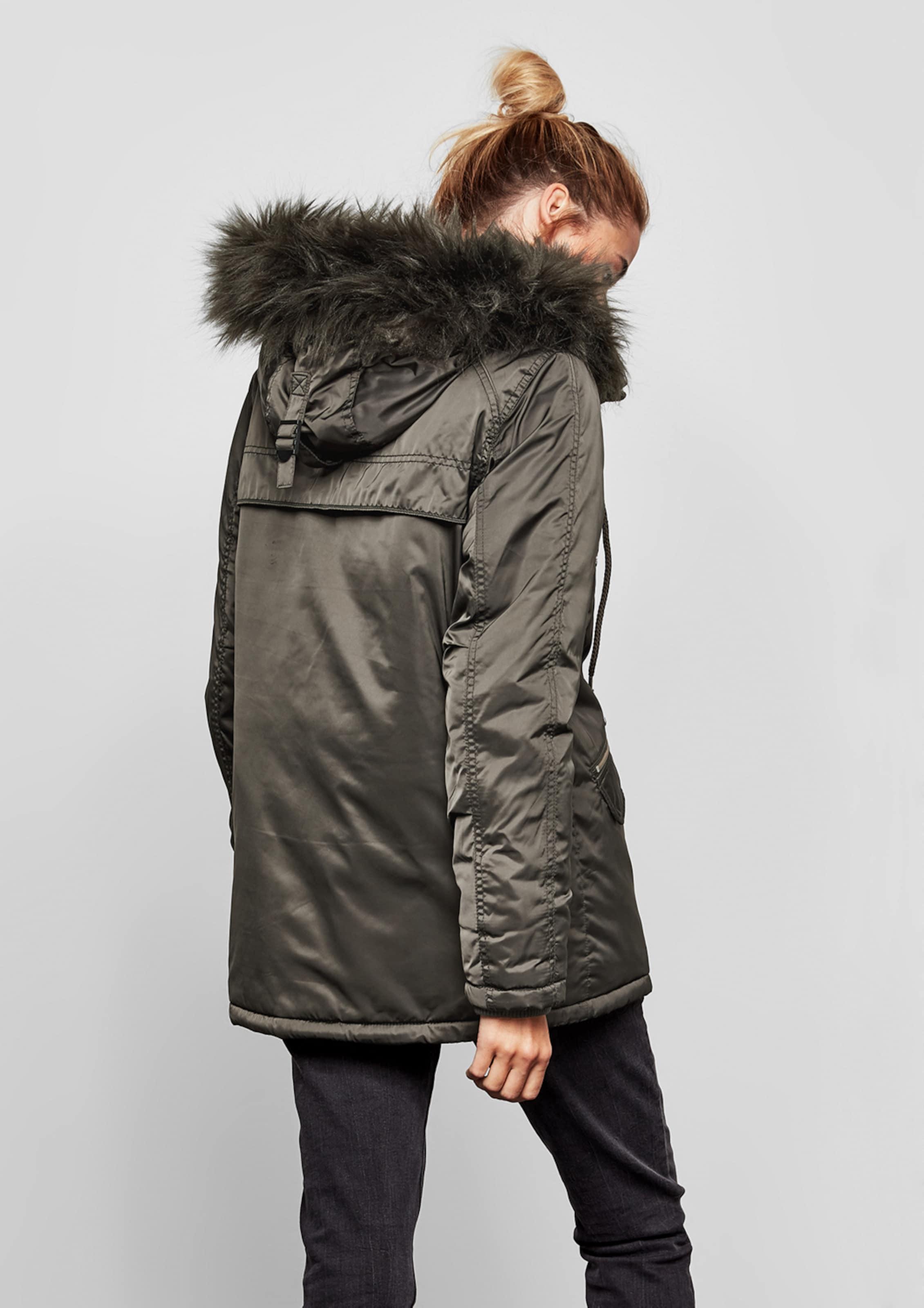 In Q Designed Khaki Kurzmantel By s X8n0wkPO