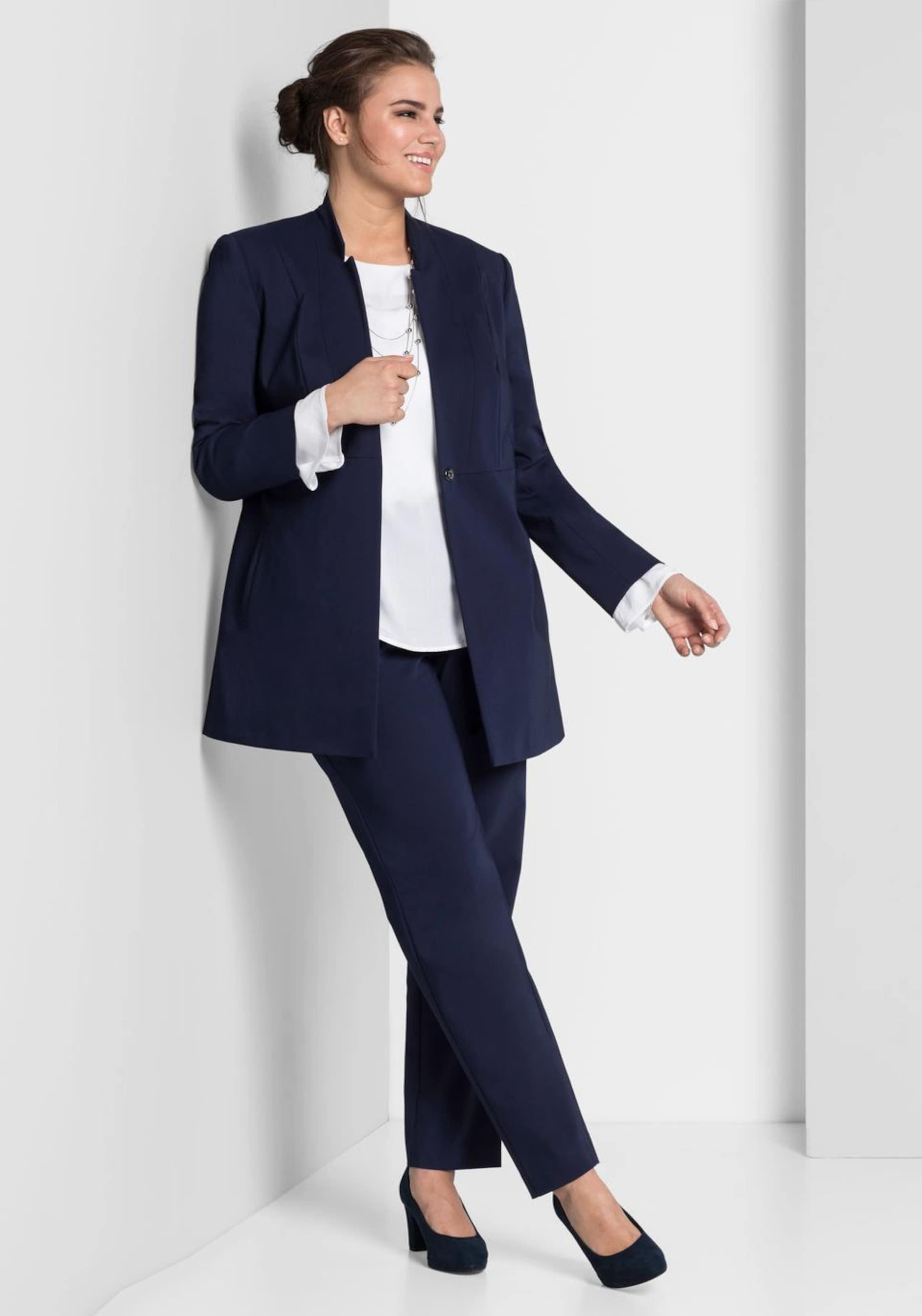 Style Blazer Marine Blazer Sheego Sheego Marine Sheego Style In Style Blazer In TFK31Jcl