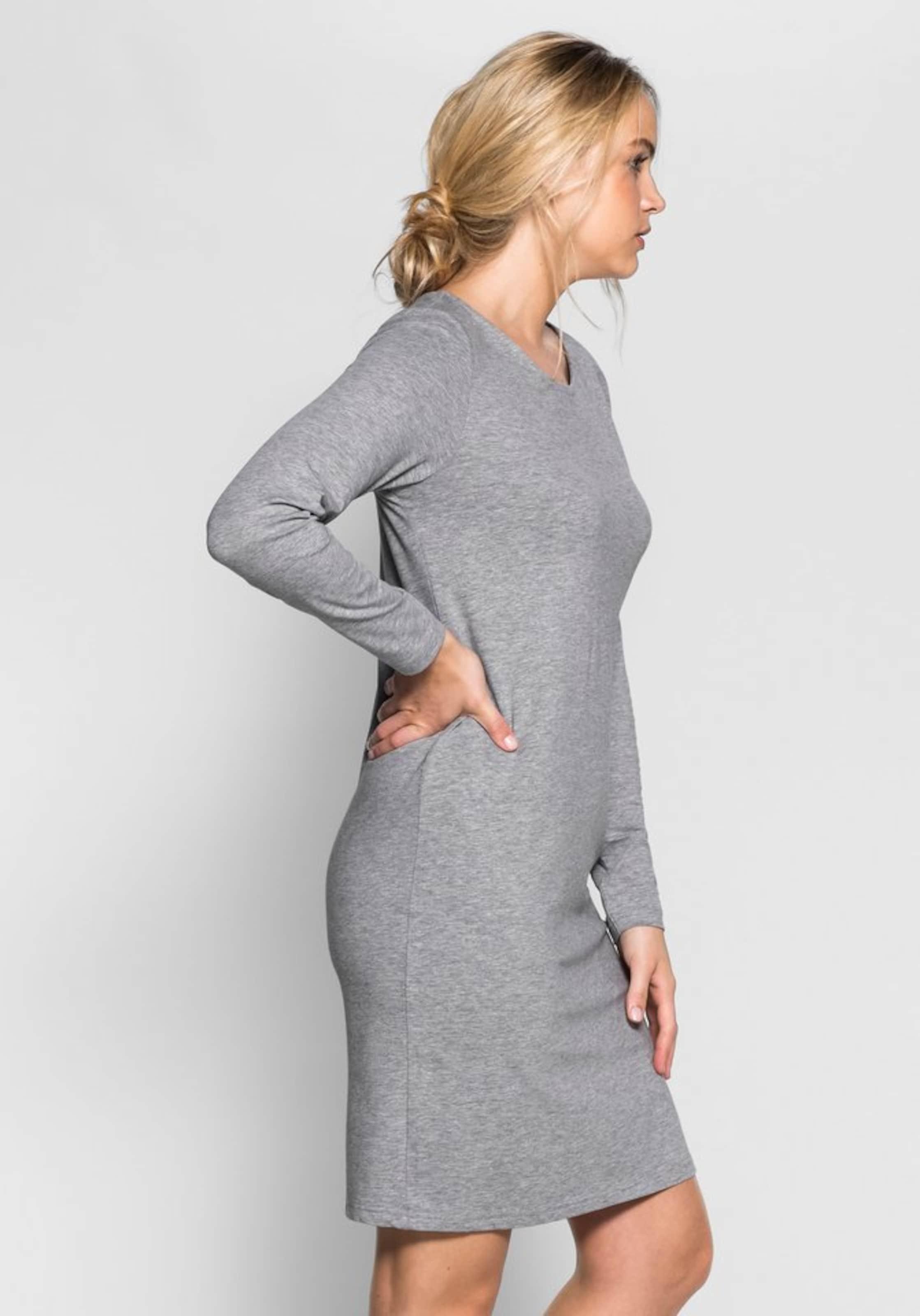 Kleid Basic Grau Casual In Sheego QWrdxoBCe