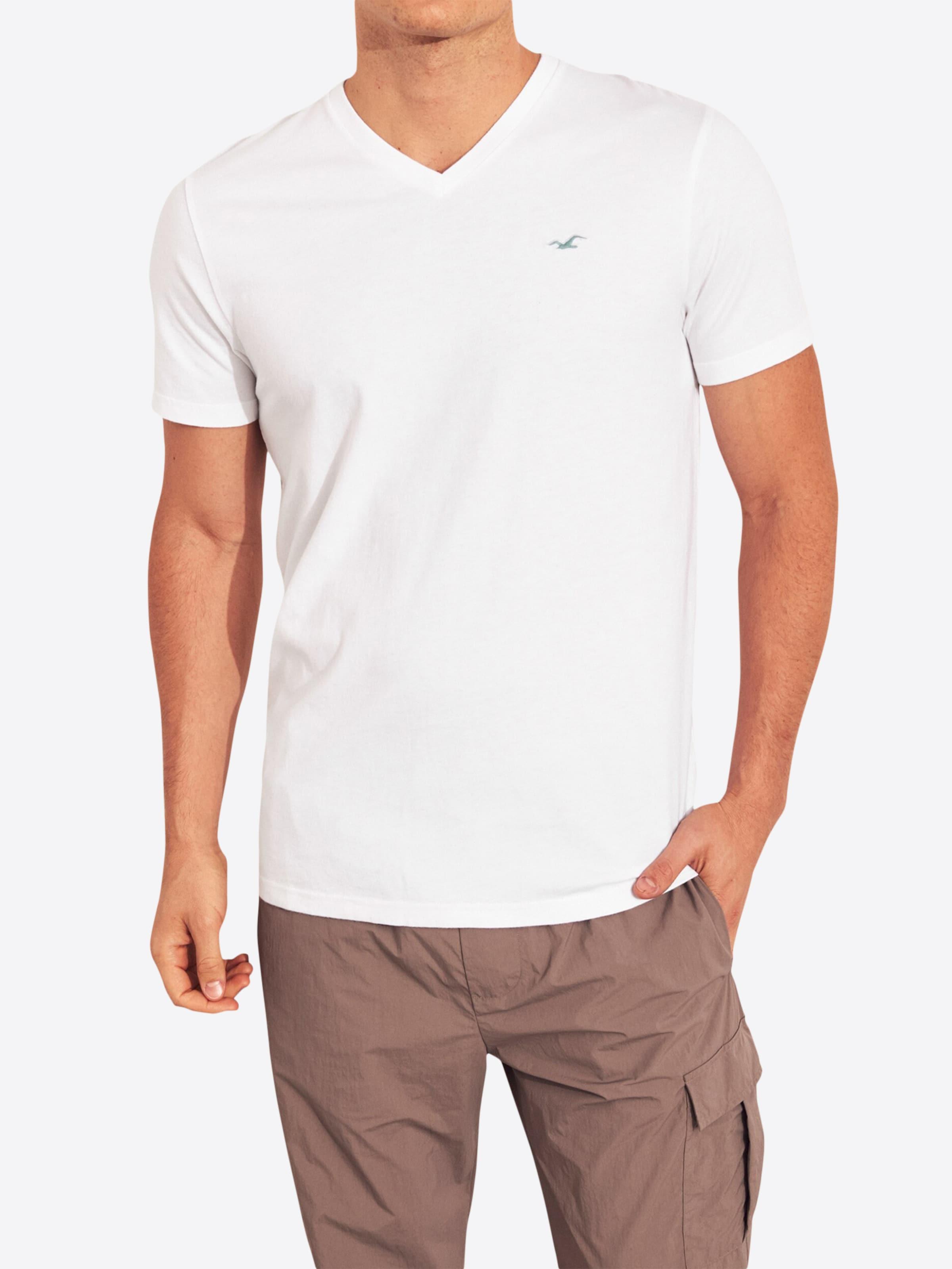 En Hollister shirt T Hollister T En shirt Blanc Blanc DWHIE29Y