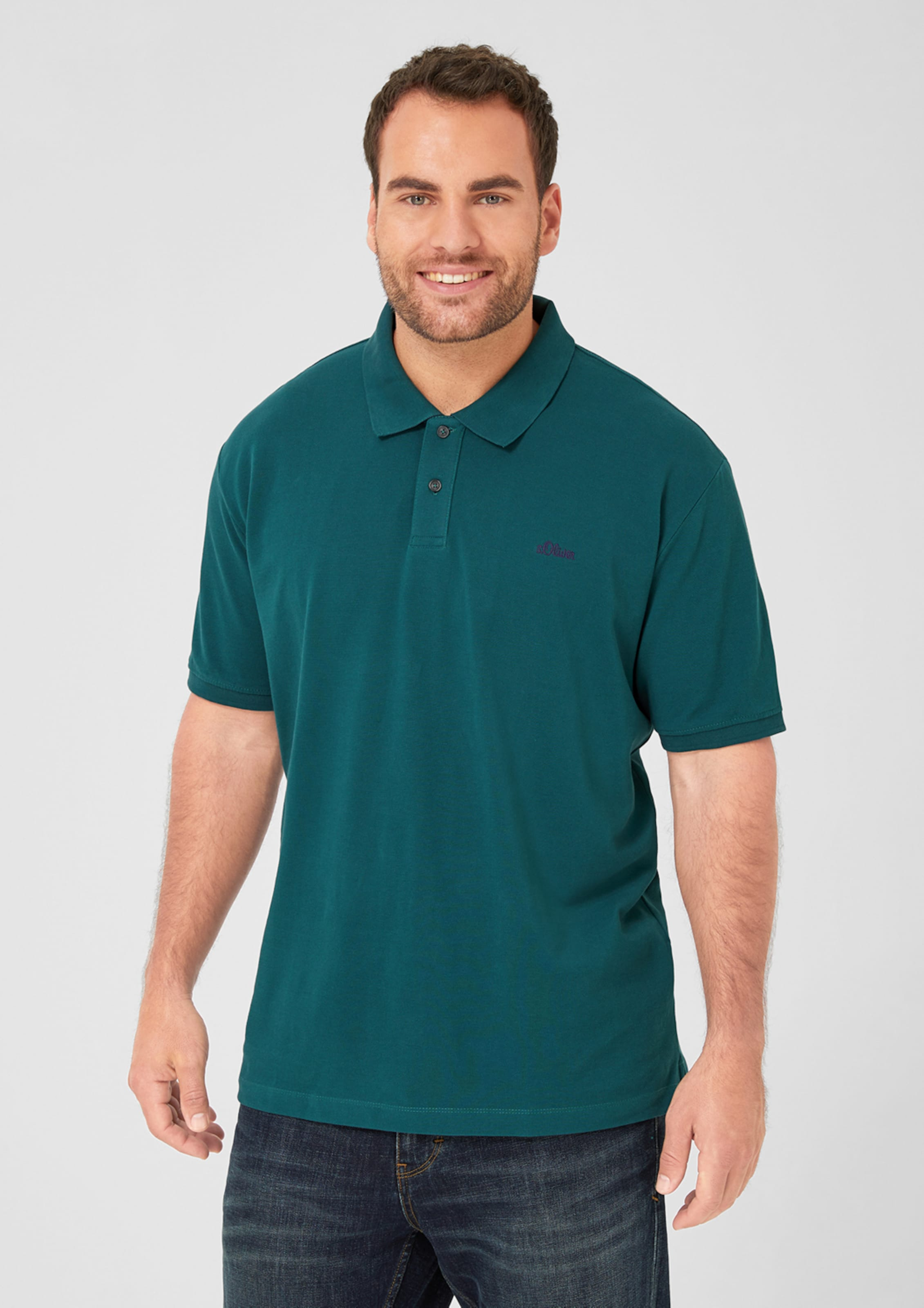 Poloshirt Petrol oliver In S Red Label qSVUzpLGM
