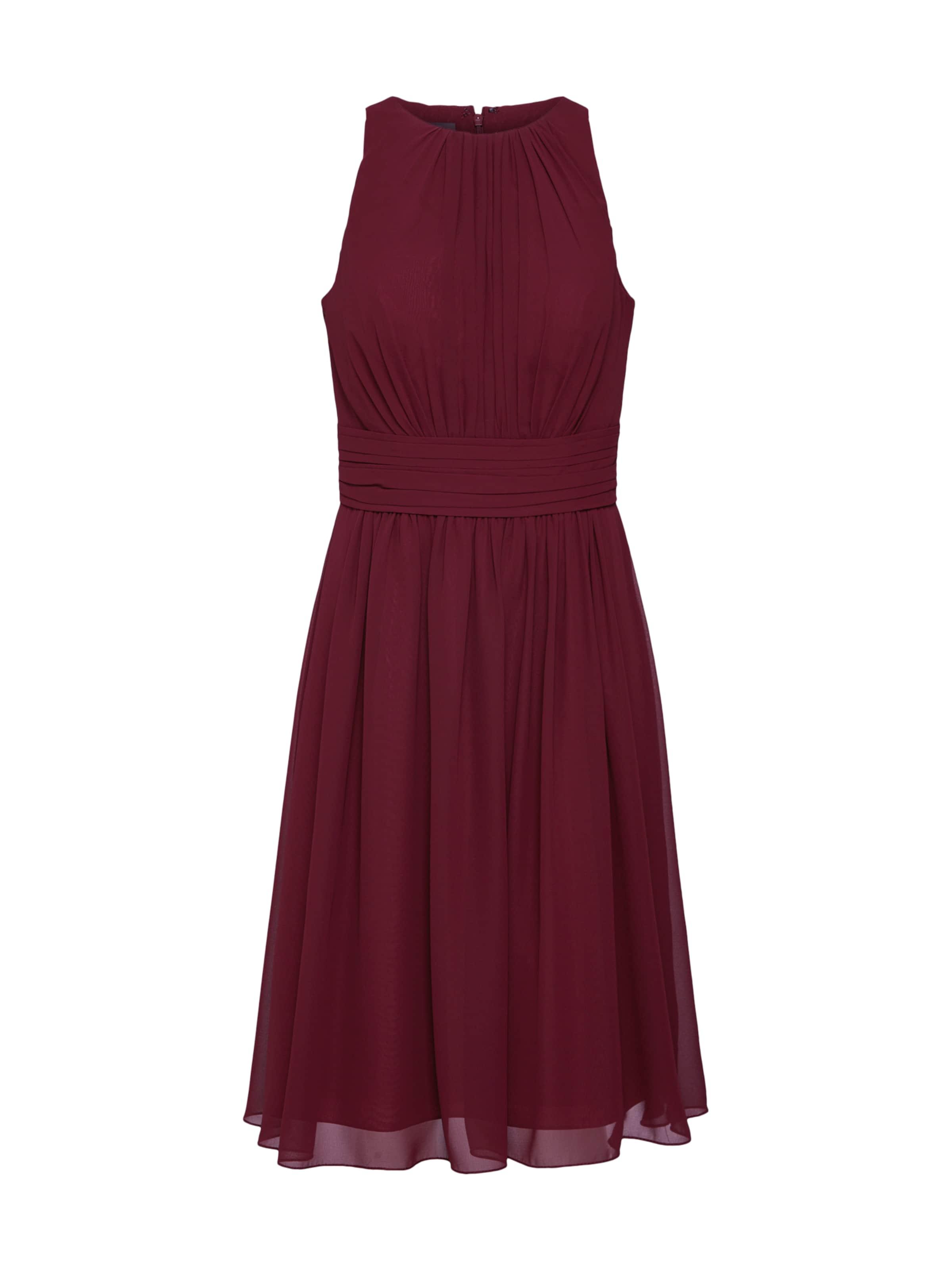 Cocktail 'short Bourgogne Dress Star Robe De Chiffon' En Night ywv8OmNn0