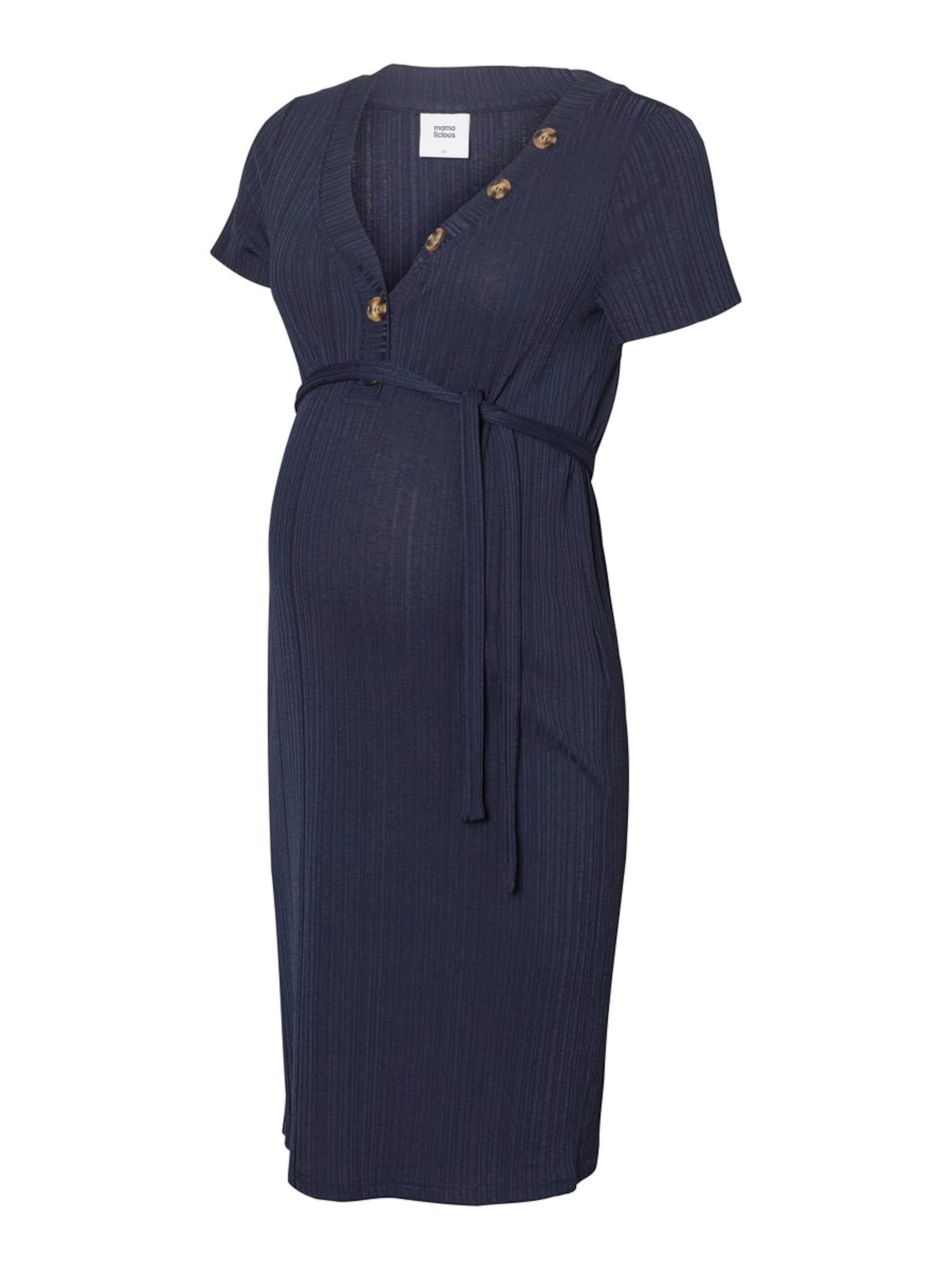 En Mamalicious Mamalicious Bleu Marine En Marine Robe Bleu Robe 76ybfYg