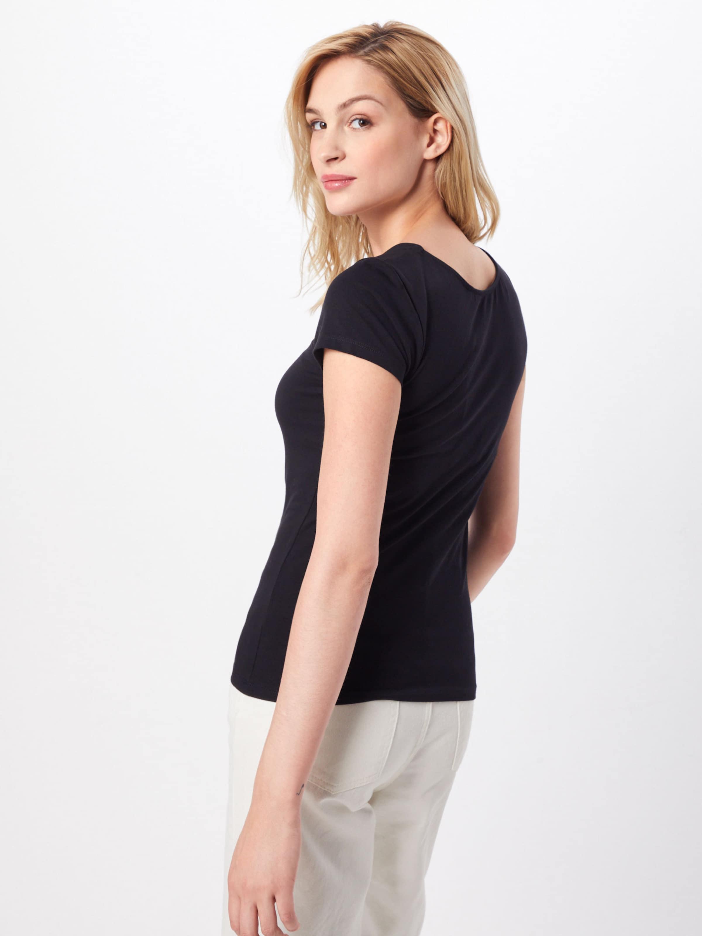 shirt T Noir Hailys 'evelyn' En F3lK1JTc