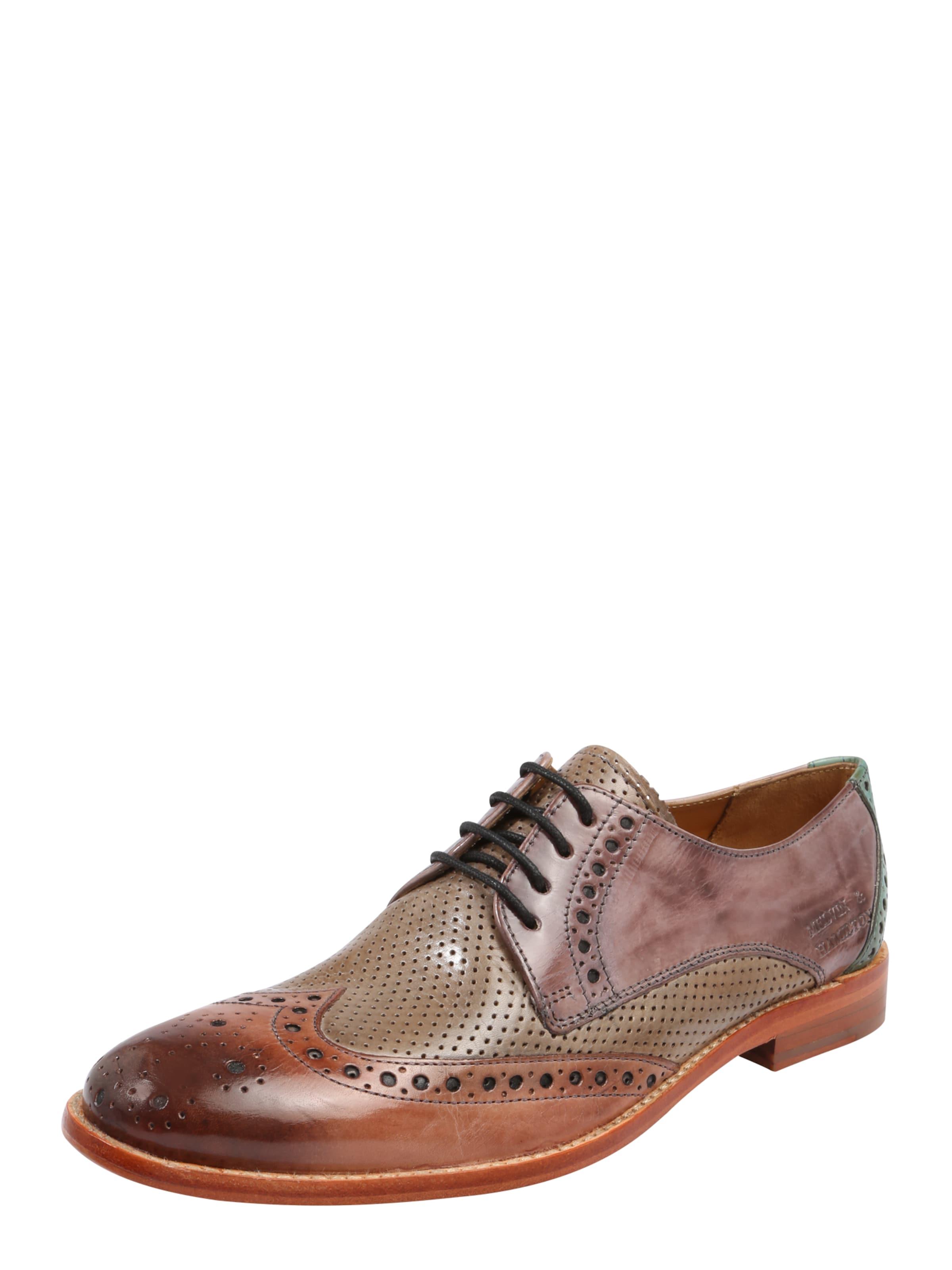 À En 3' Lacets MarronCaramel 'amelie Émeraude Chaussure Melvinamp; Hamilton XiZukOP
