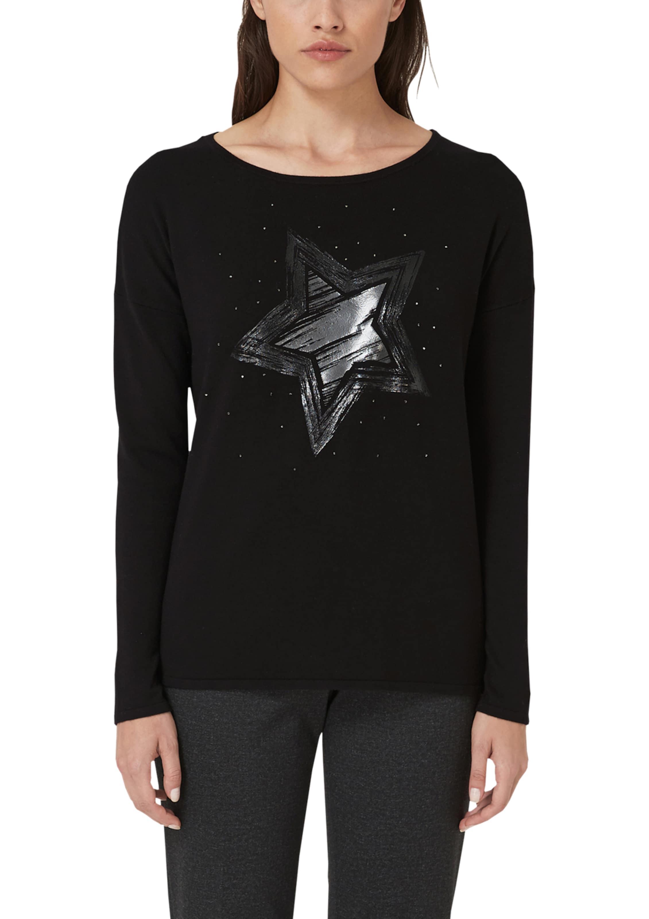 oliver S Label Pullover SchwarzSilber Black In 8wPyNnmvO0